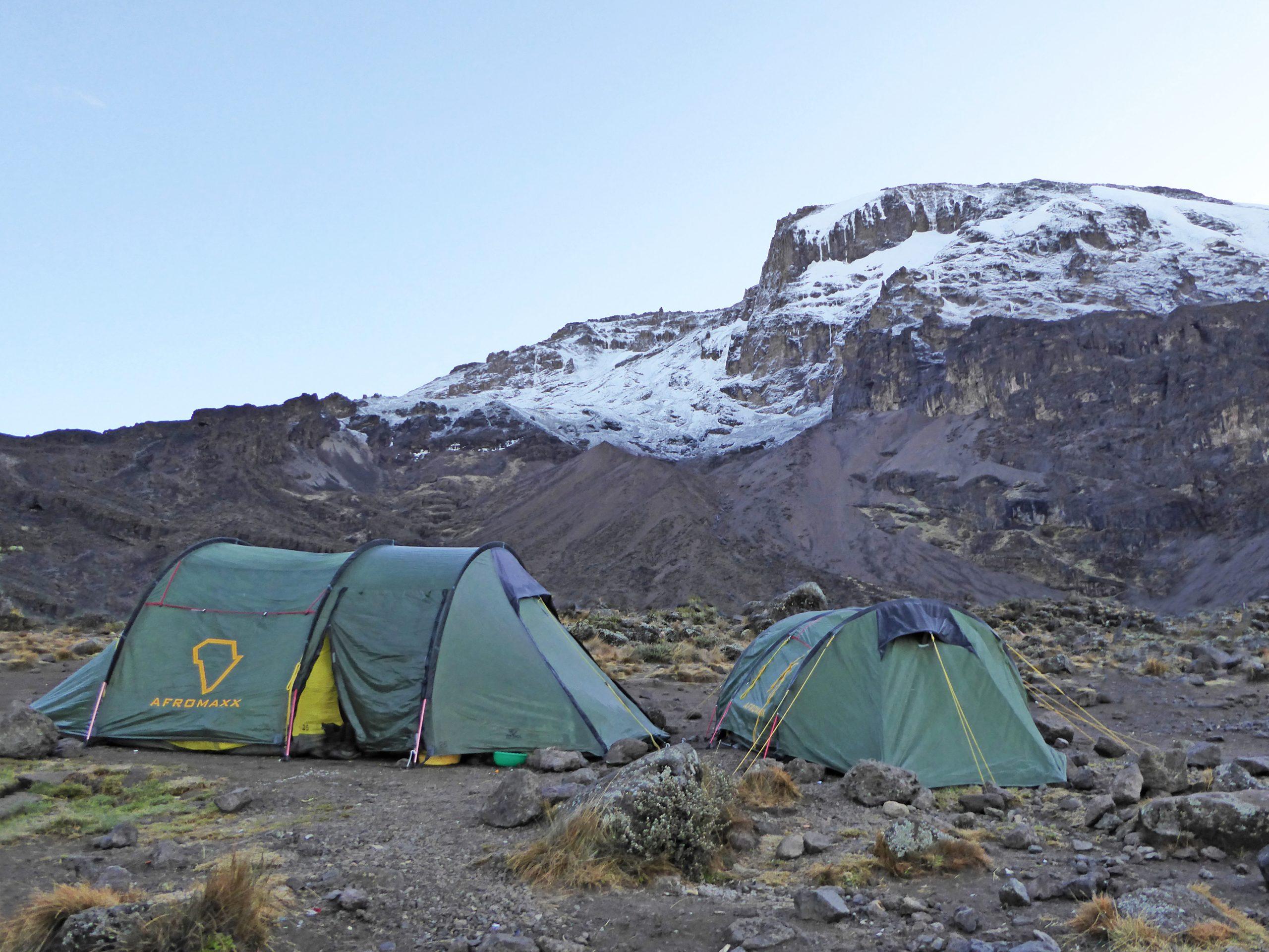 Radreise Afrika 2014 - Kilimanjaro - Barranco-Camp