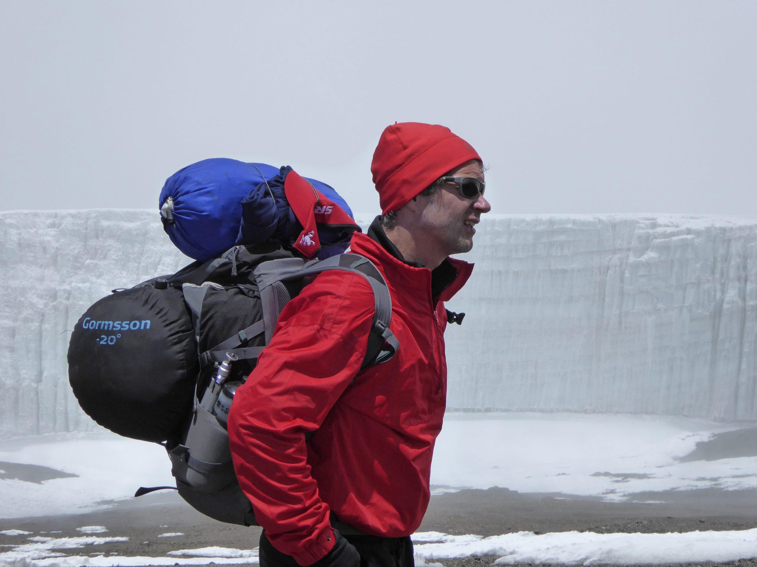 Radreise Afrika 2014 - Kilimanjaro - Kersten-Gletscher