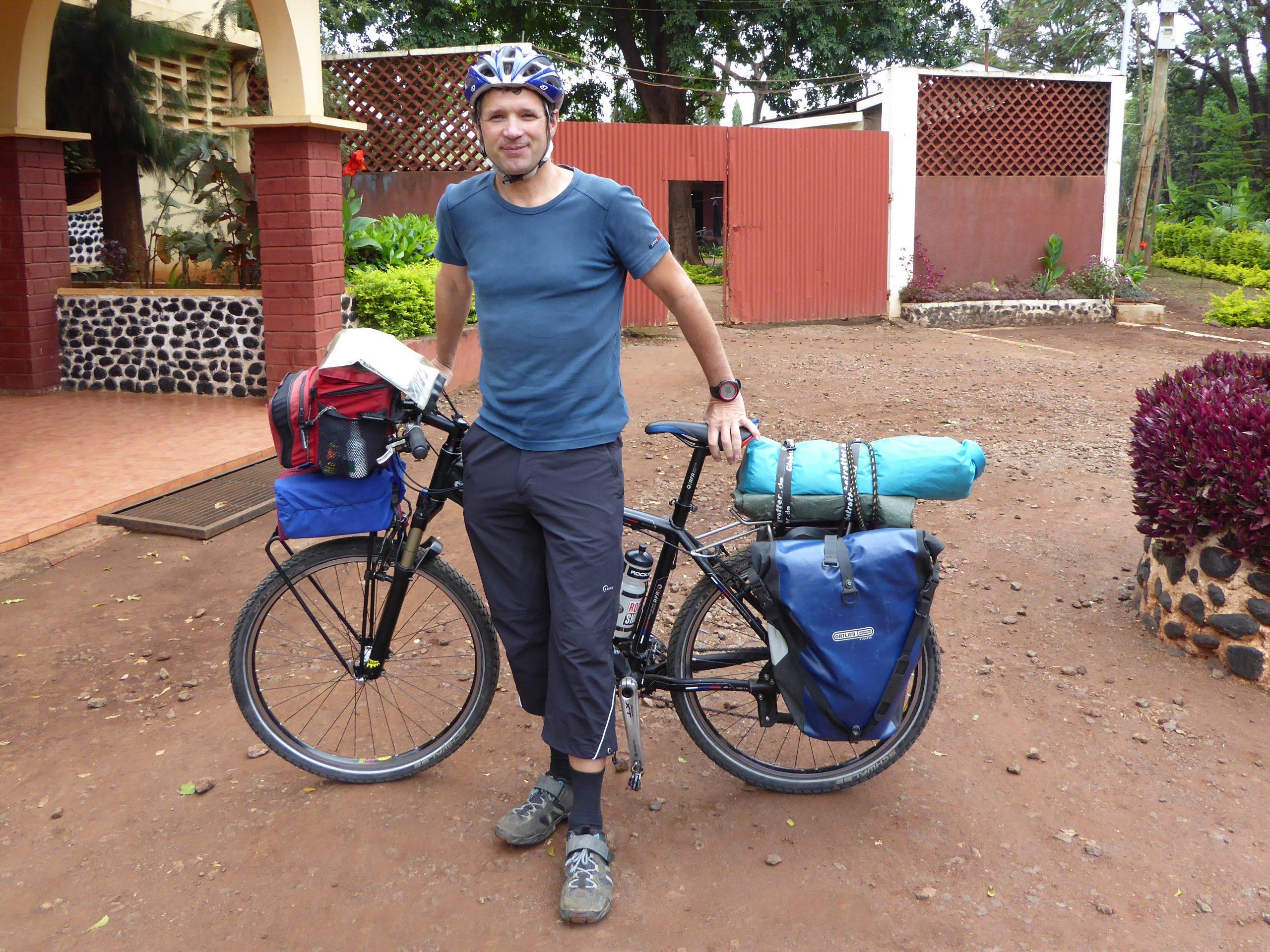 Radreise Afrika 2014 - Start der Radtour bei Moshi