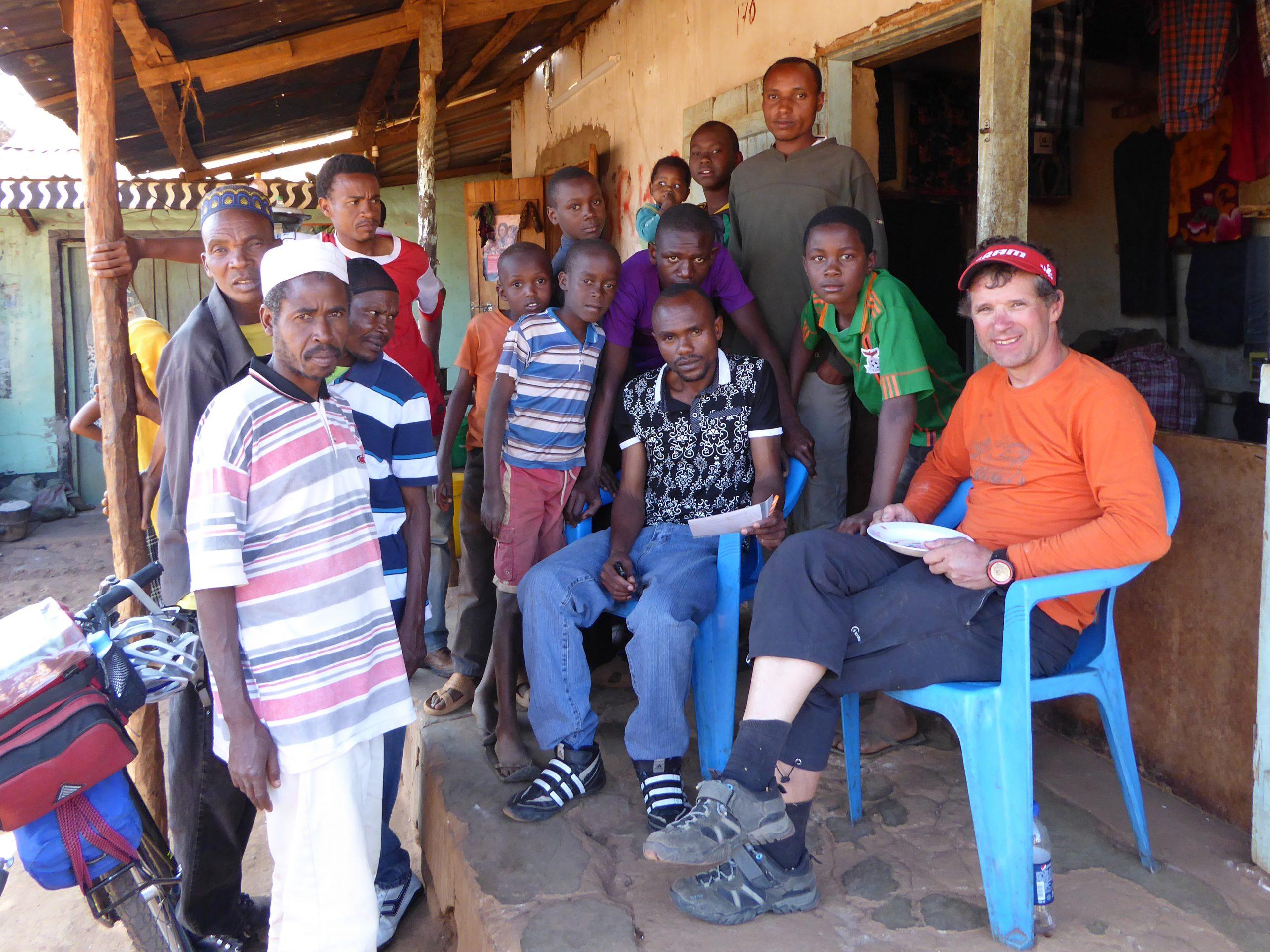 Radreise Afrika 2014 - Mittagspause