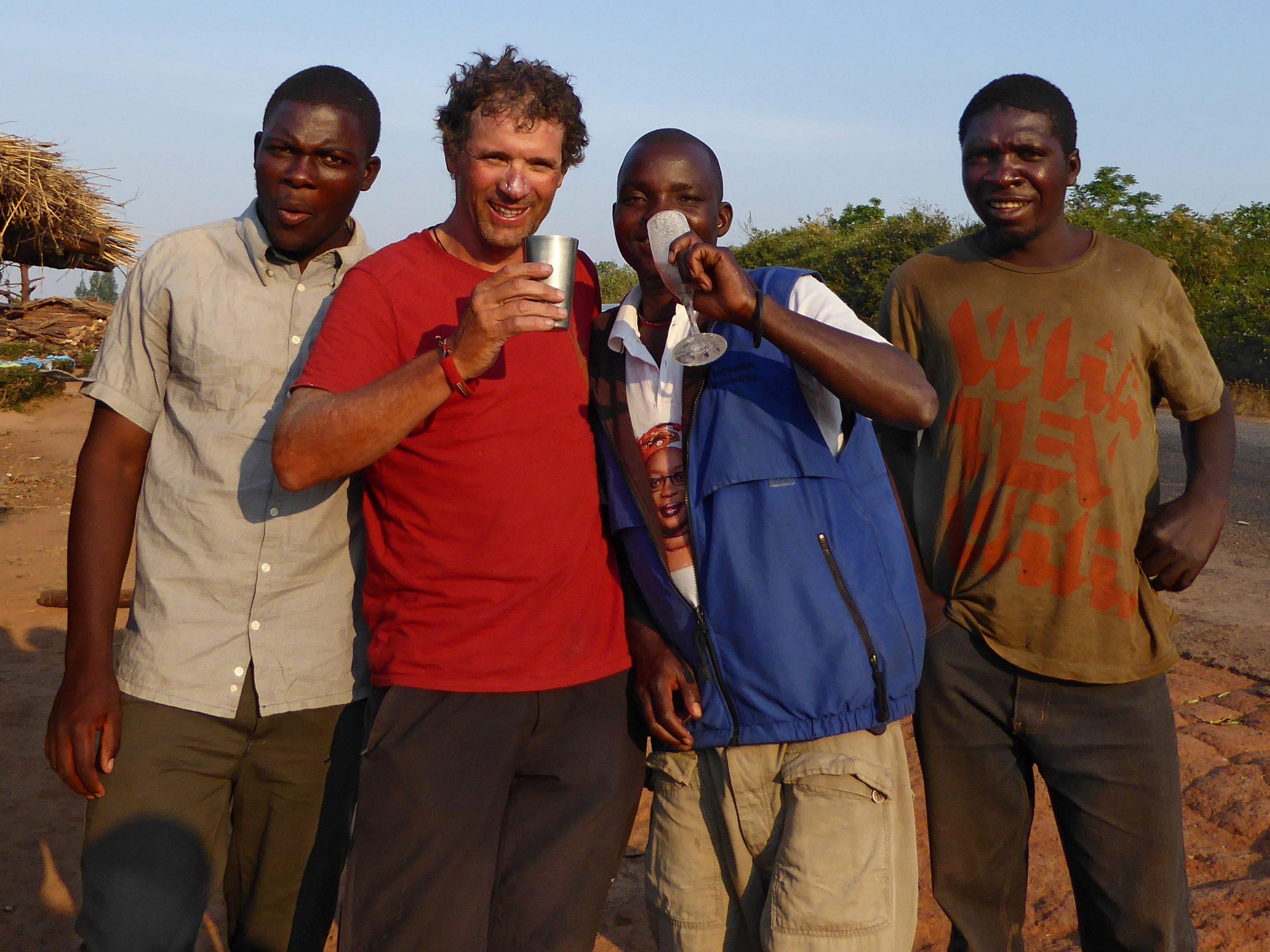 Radreise Afrika 2014 - Getreidebier (Pombe)