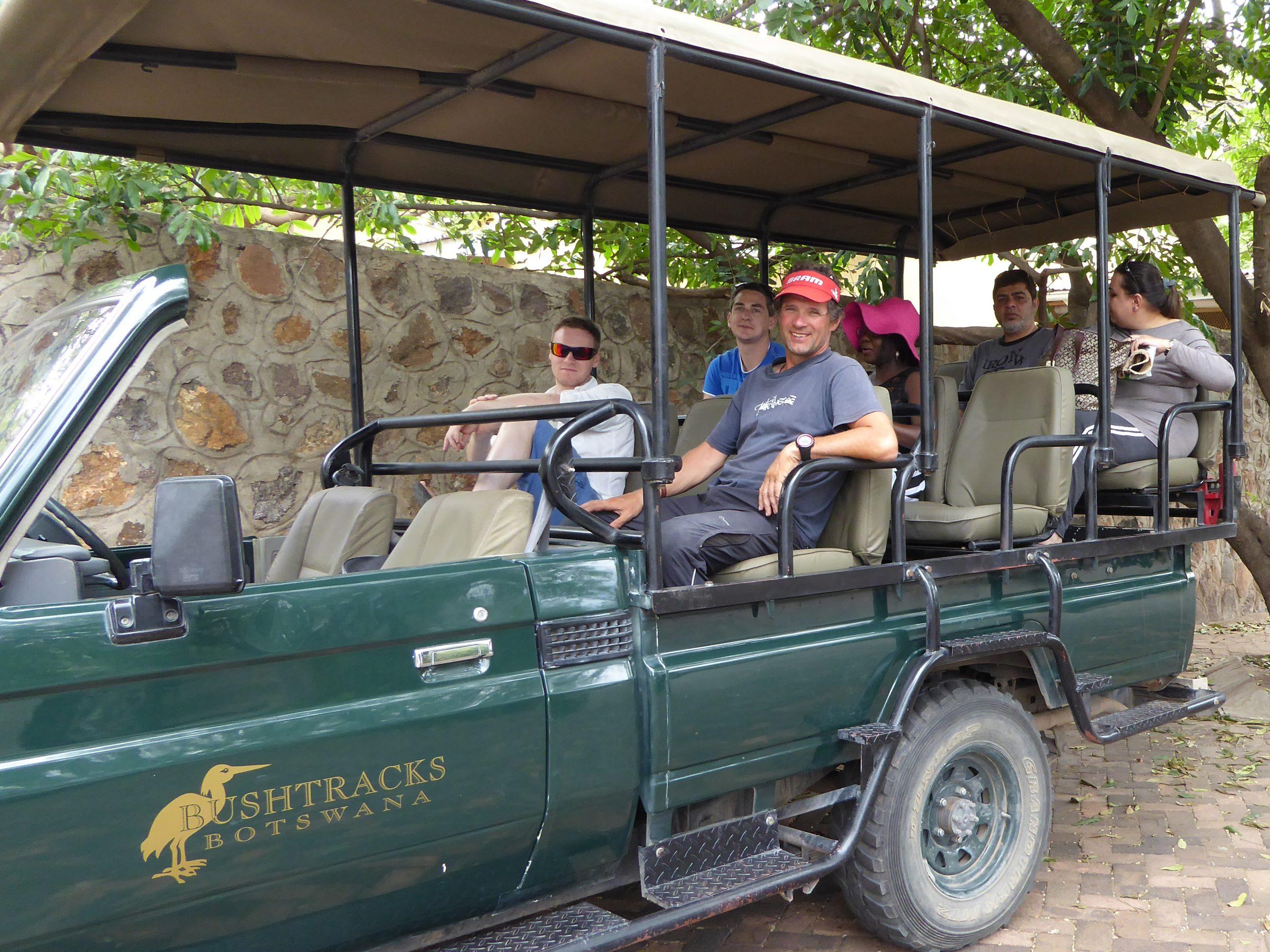Radreise Afrika 2014 - Chobe NP - Start zur Safari