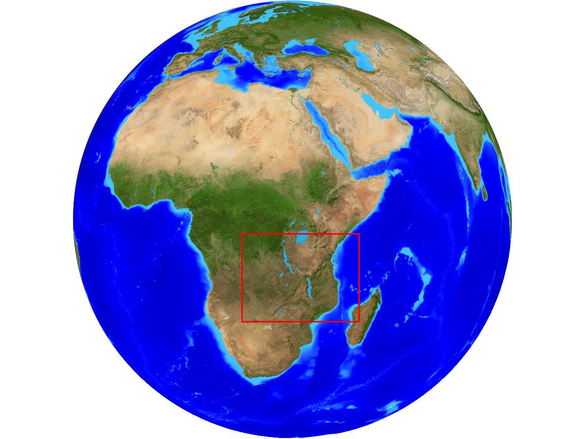 Radreise Afrika 2014 - Weltkugel