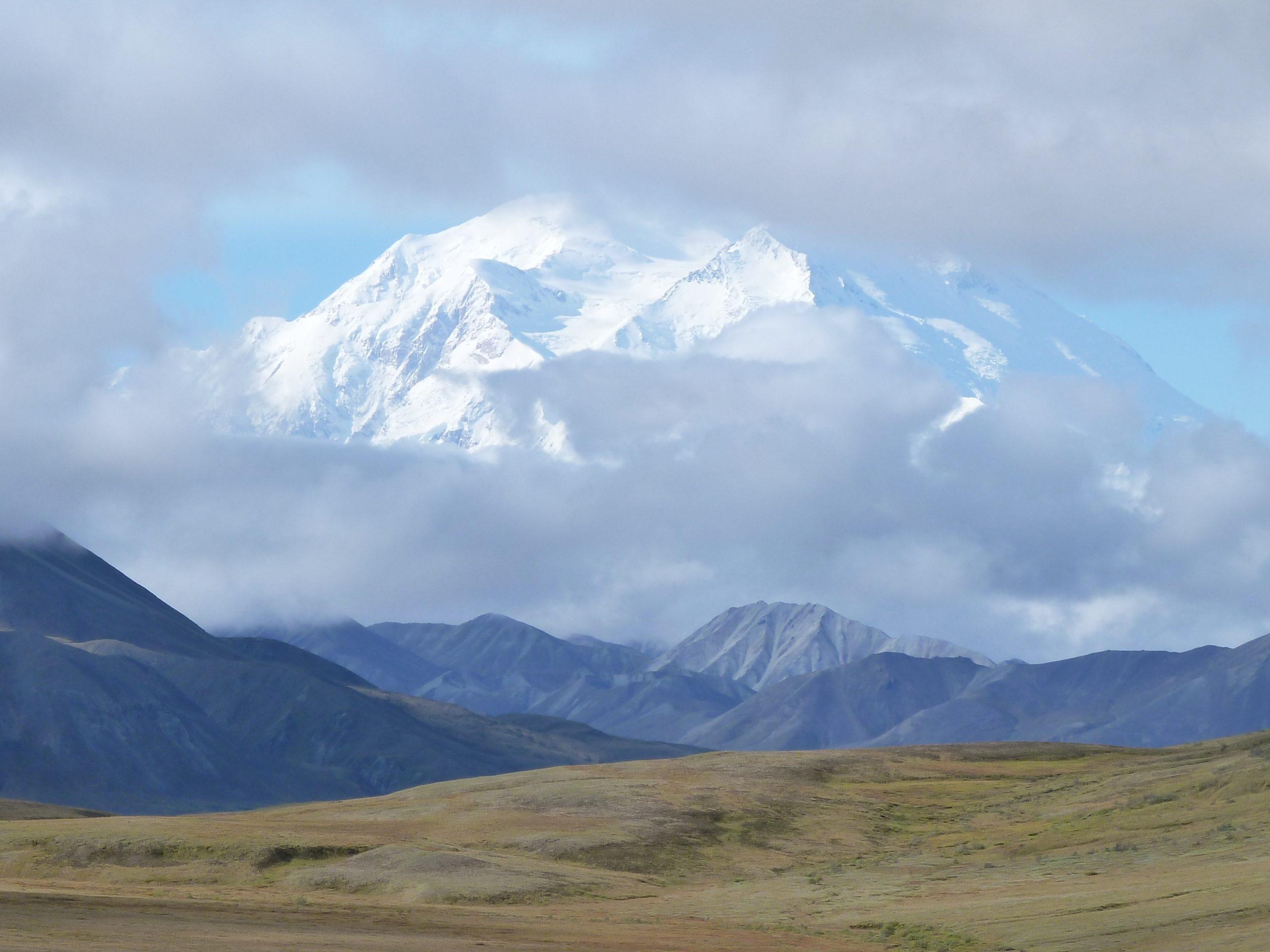 Radreise Alaska 2010 - Denali-NP - Denali (6.190m)
