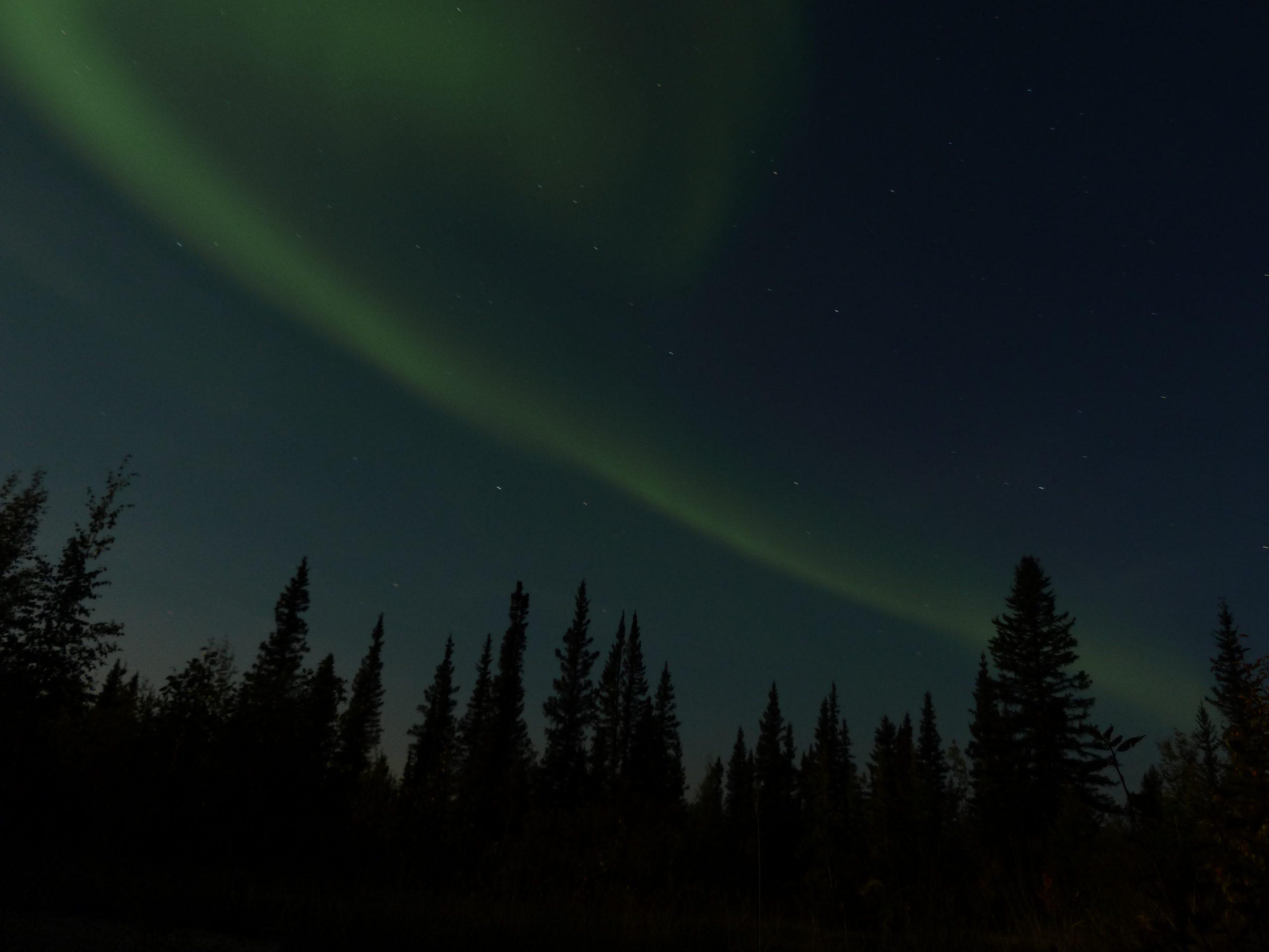 Radreise Alaska 2010 - Polarlicht