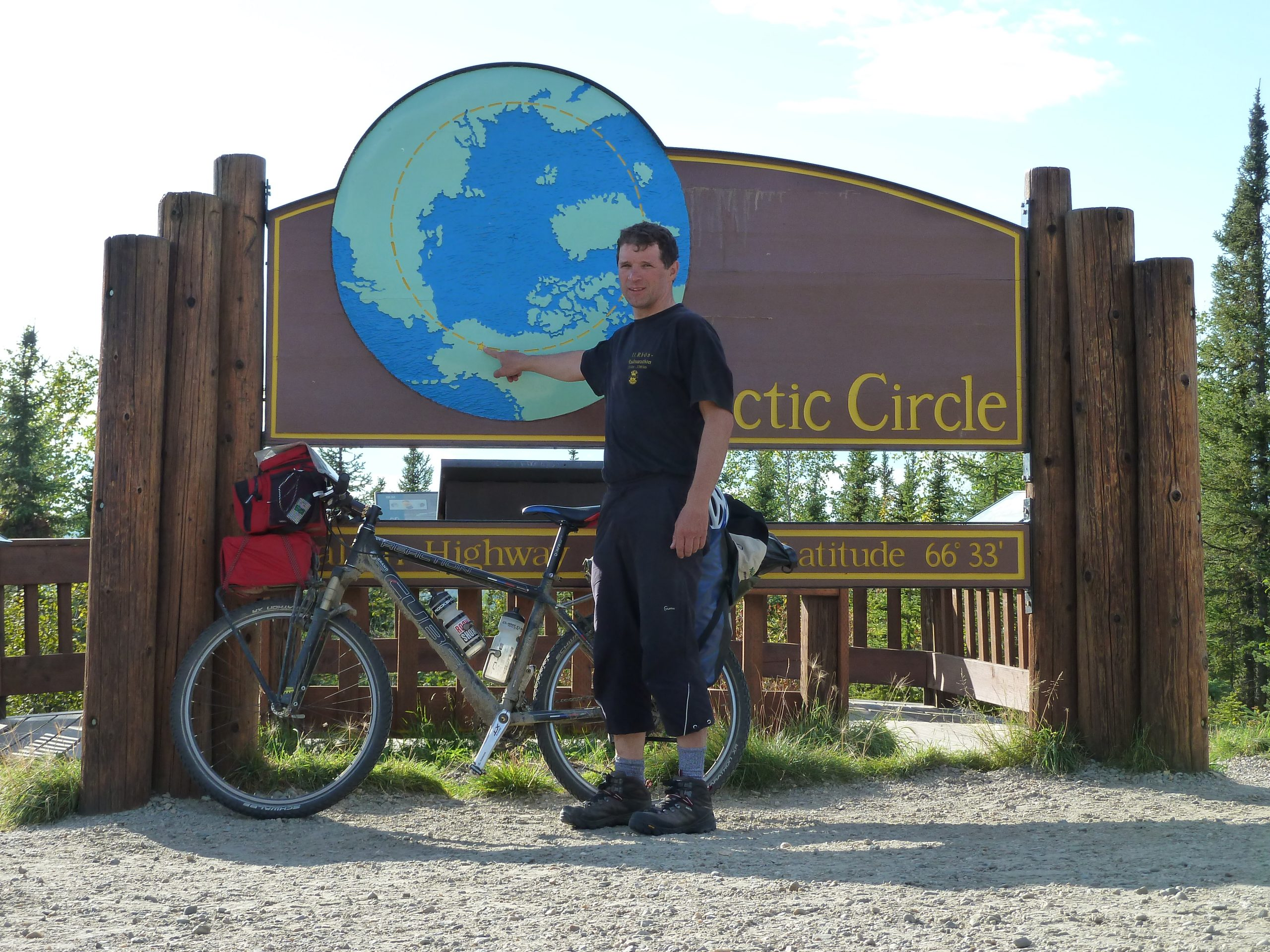 Radreise Alaska 2010 - Artic Circle