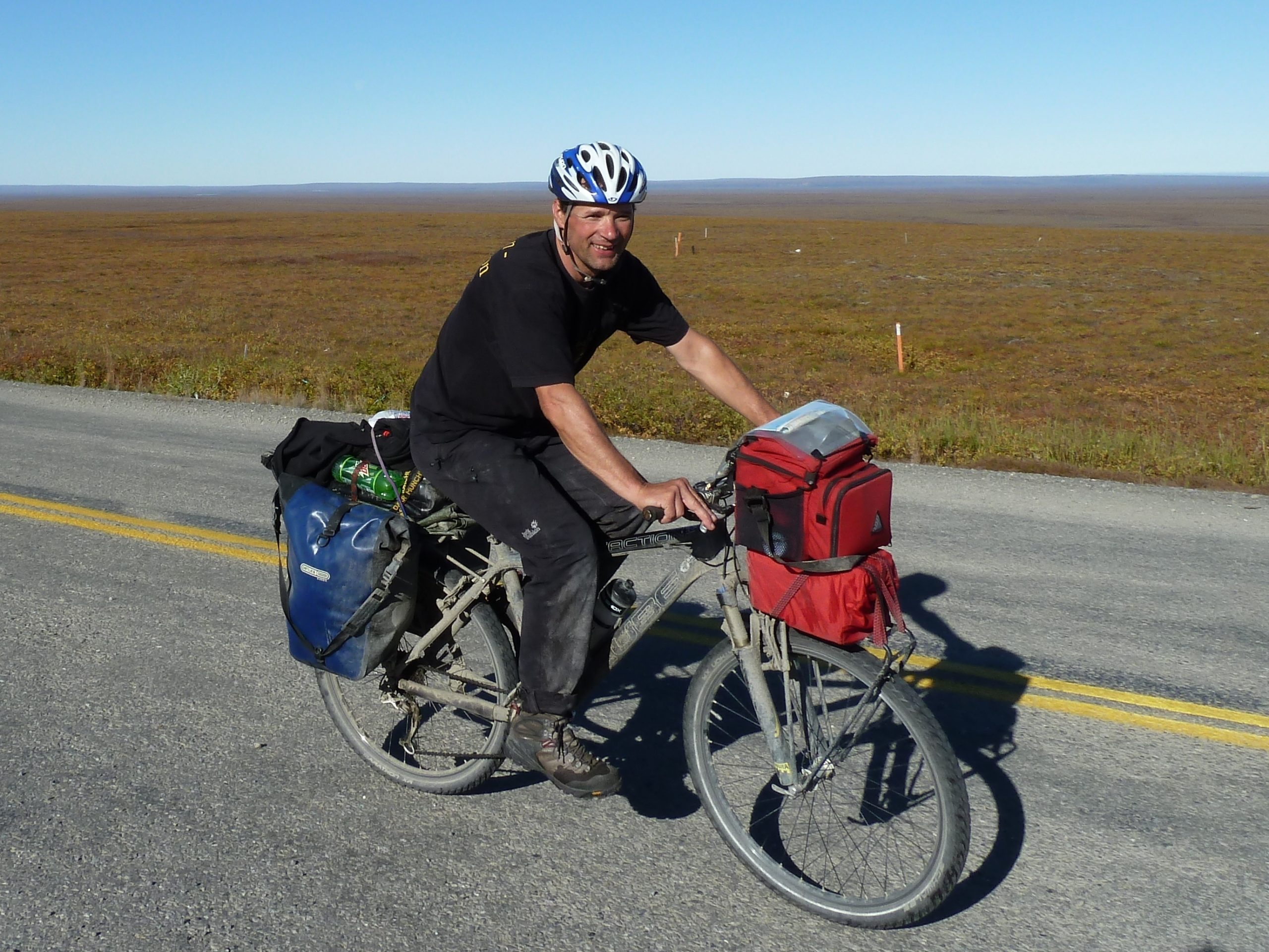 Radreise Alaska 2010 - Auf dem Dalton Highway