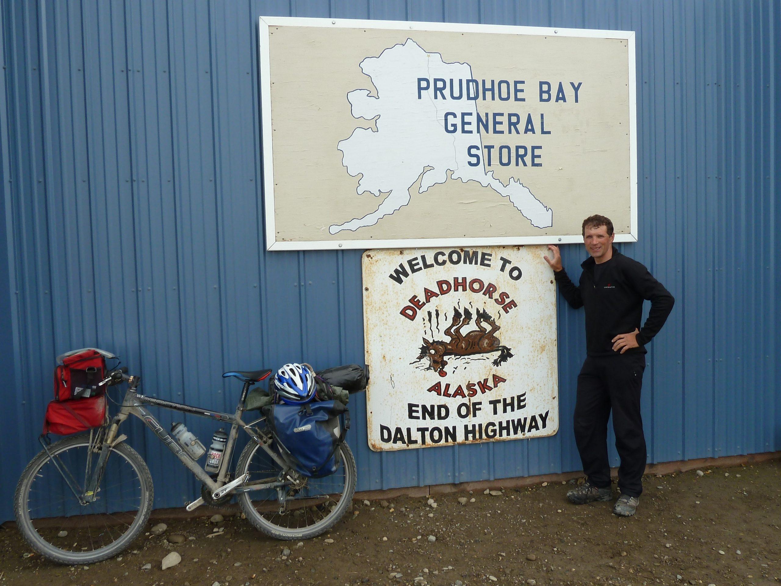 Radreise Alaska 2010 - Ankunft in Deadhorse