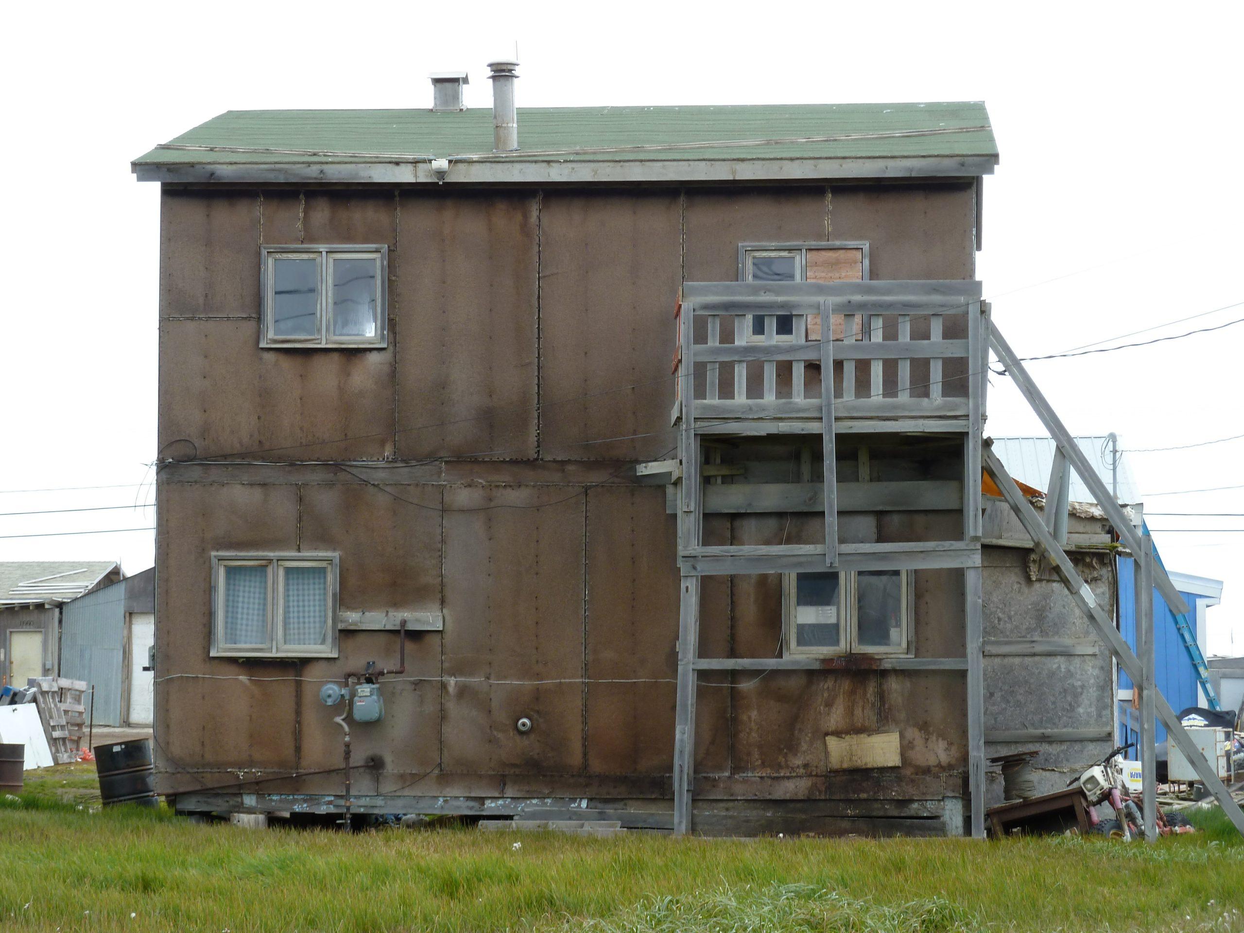 Radreise Alaska 2010 - Altes Haus in Barrow