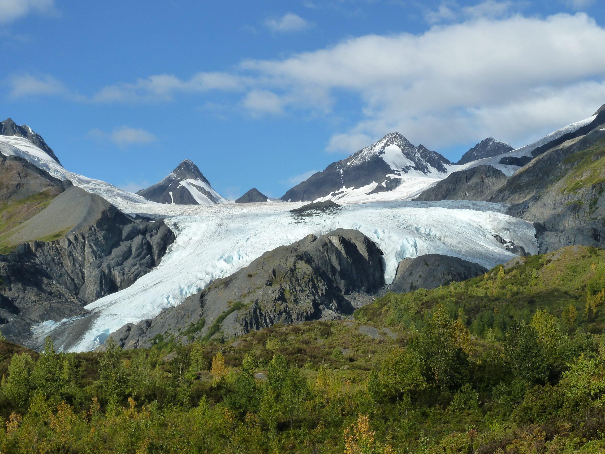 Radreise Alaska 2010 - Worthington Glacier