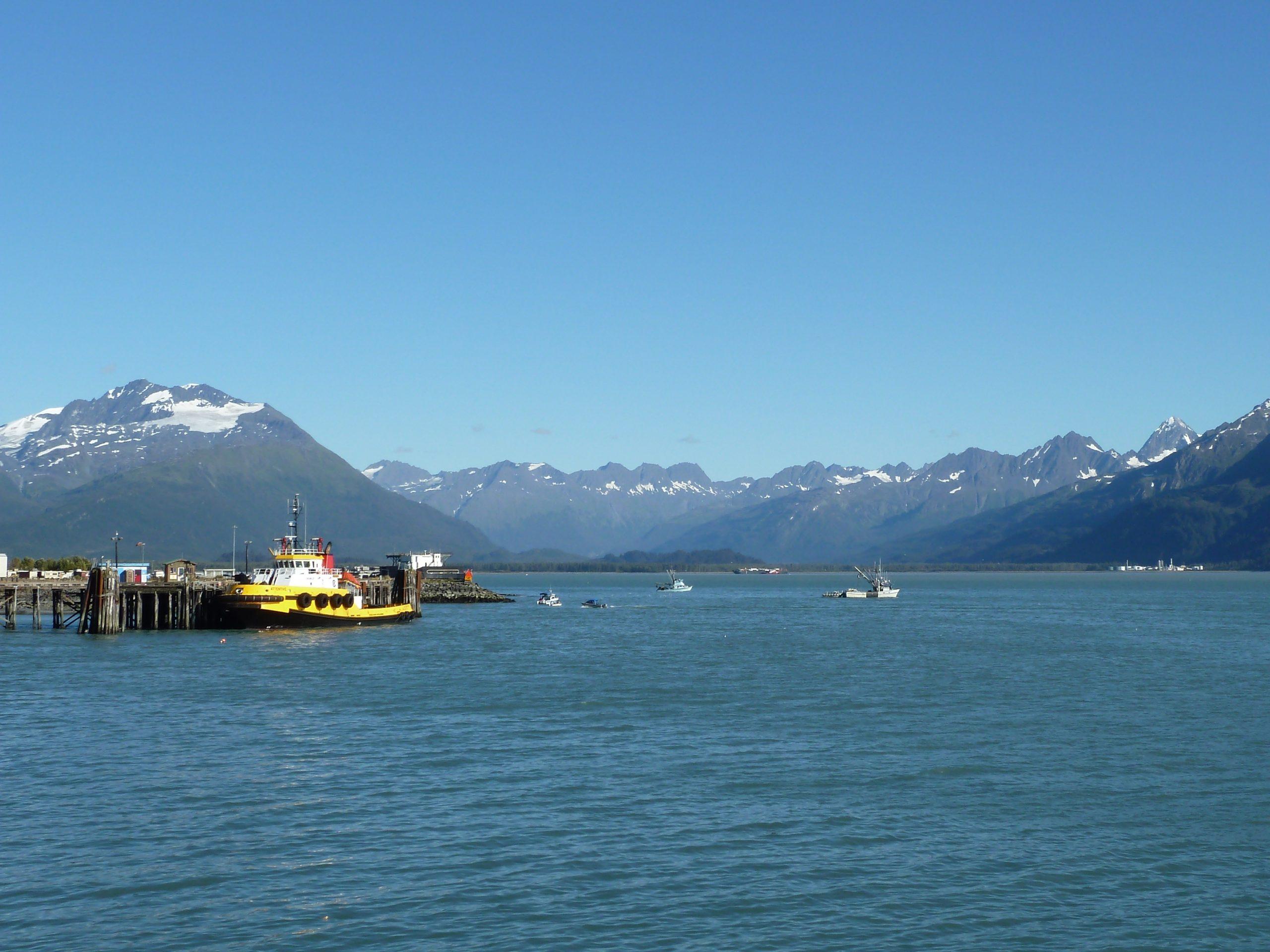 Radreise Alaska 2010 - Valdez - Prinz-William-Sund