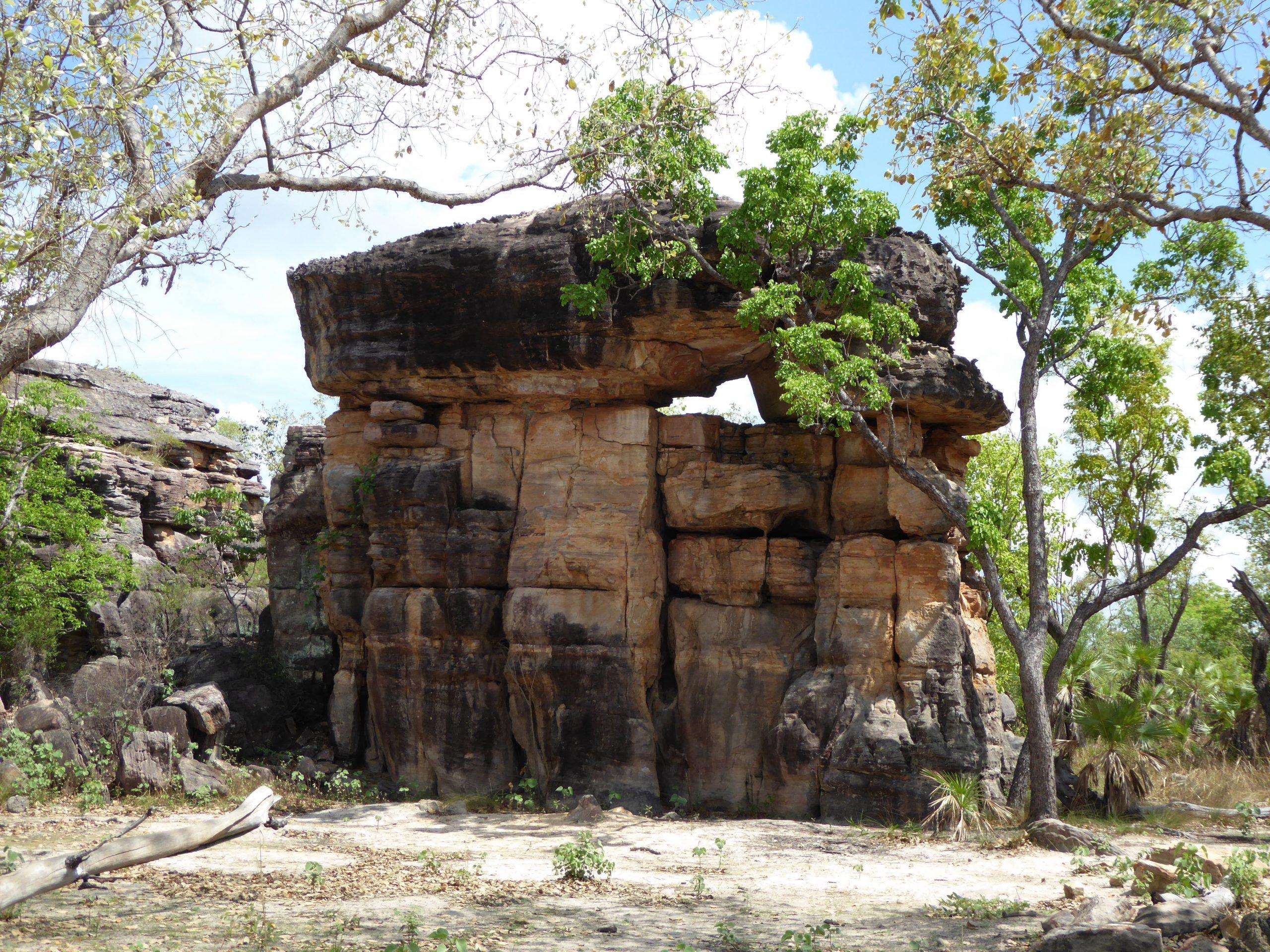Radreise Australien 2016 - Kakadu NP - Felsturm