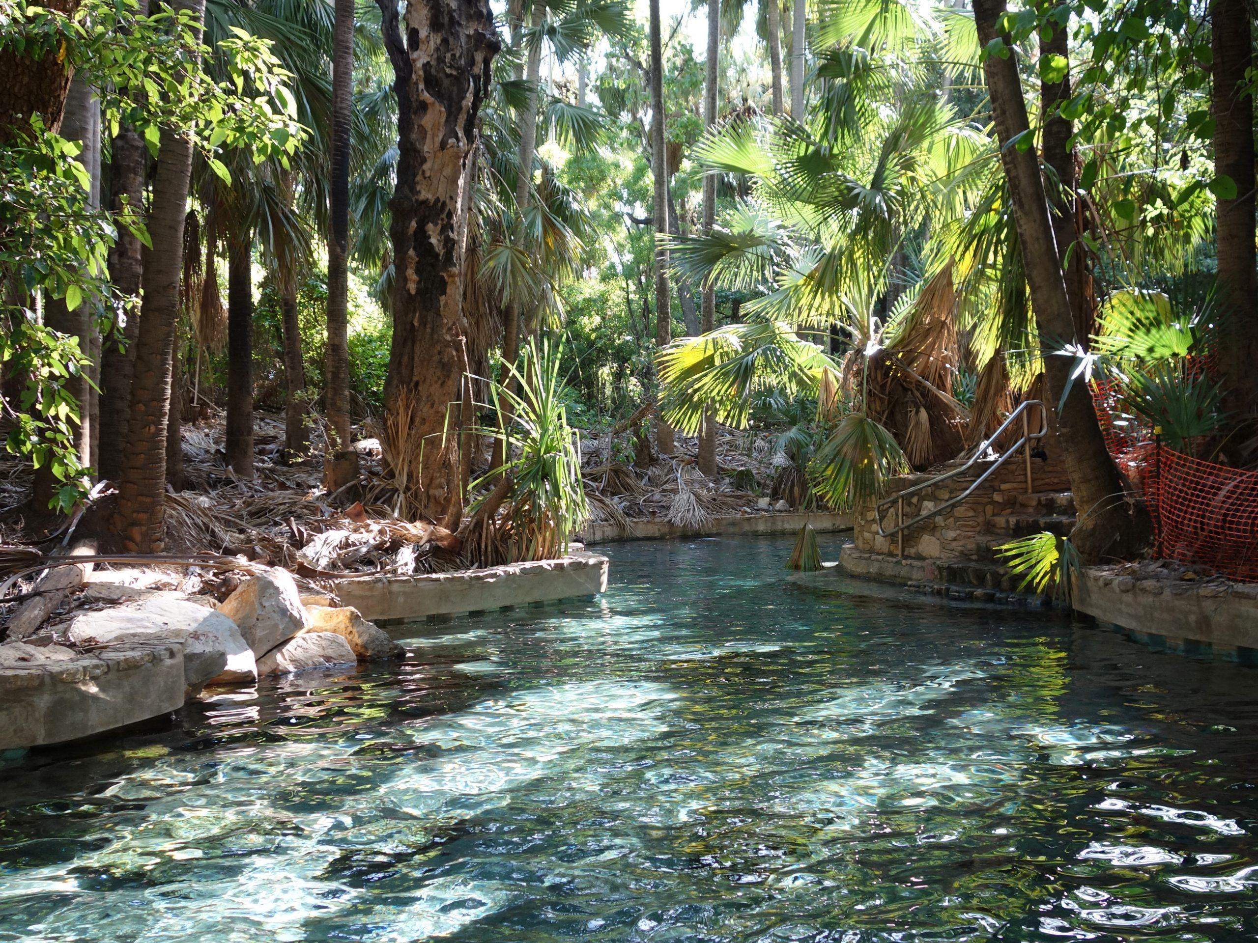 Radreise Australien 2016 - Elsey NP - Thermal Pool