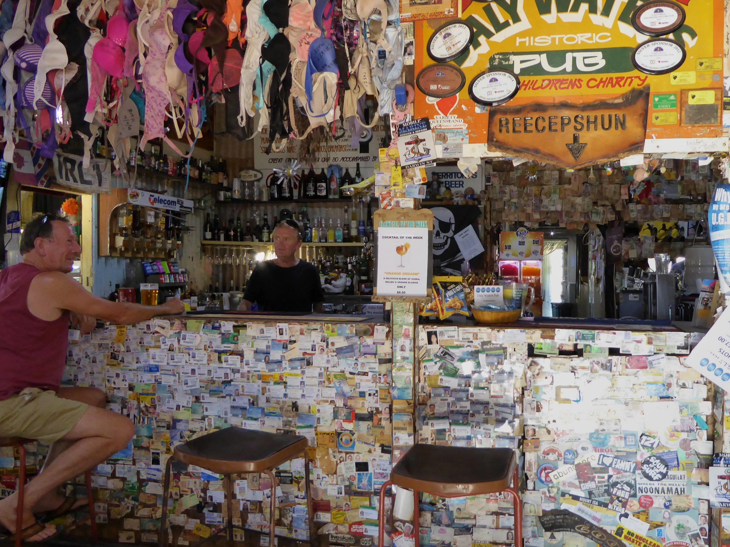 Radreise Australien 2016 - Stuart Highway - Pub Daly Waters
