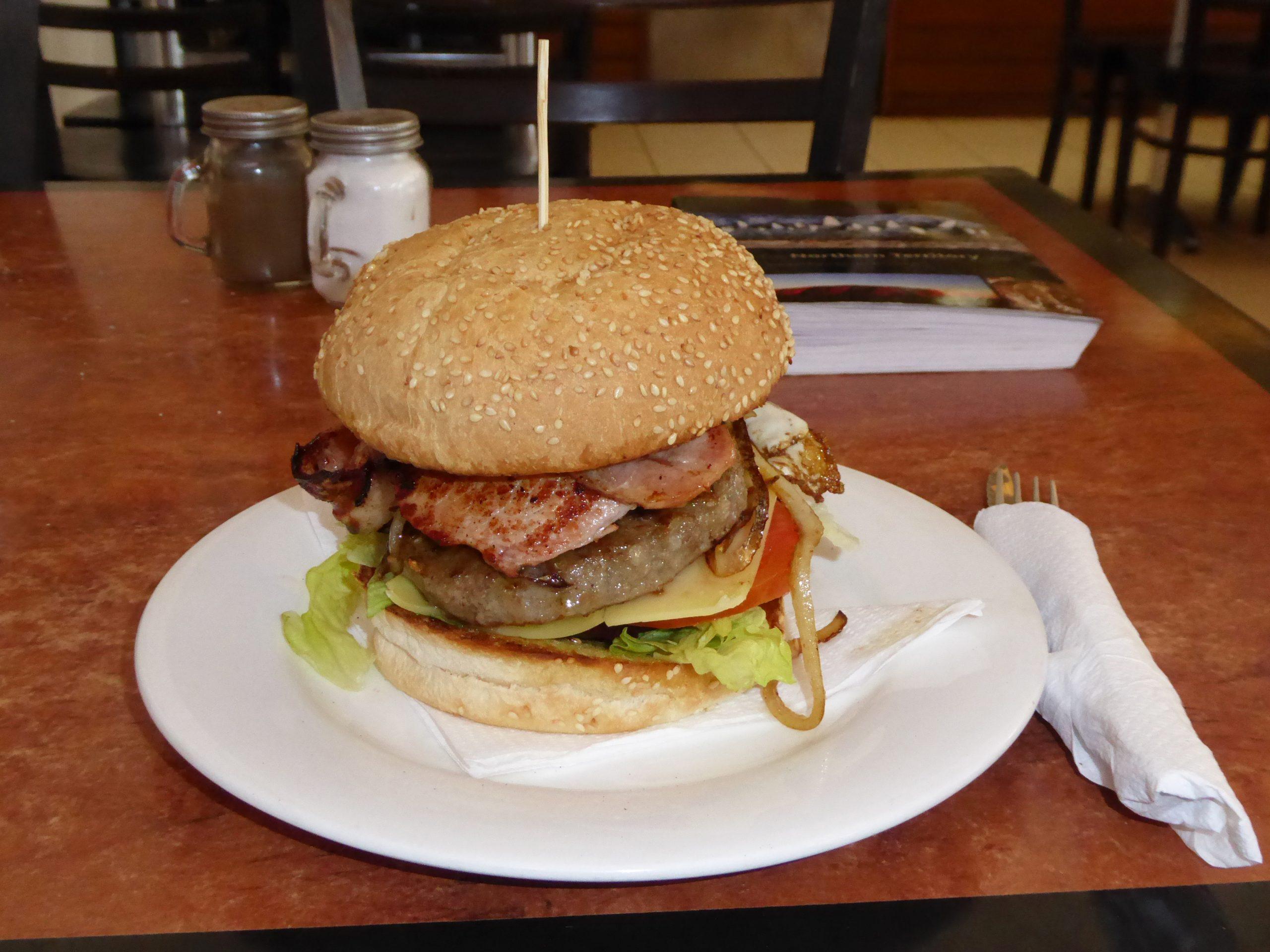 Radreise Australien 2016 - Aussie-Burger
