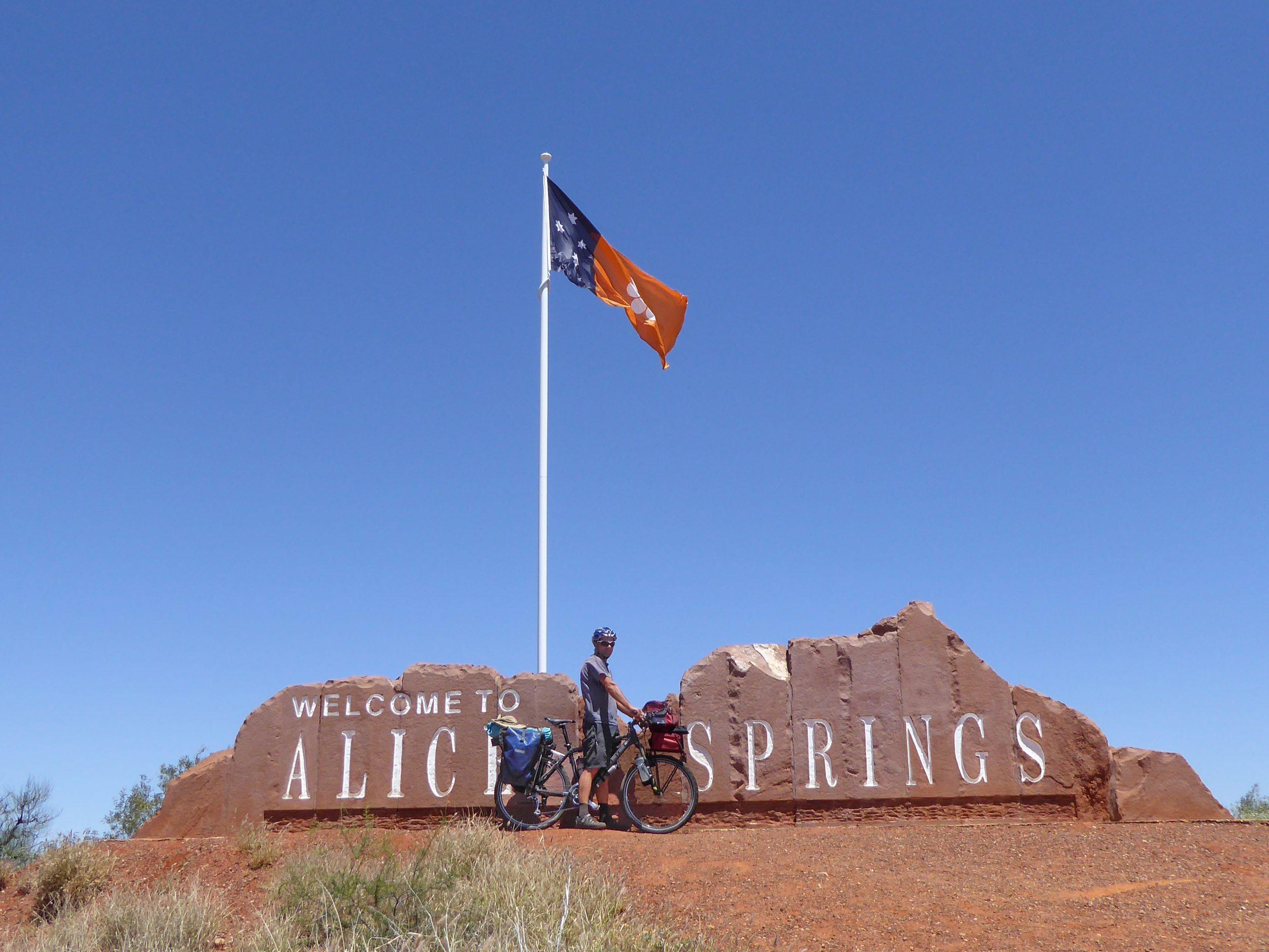 Radreise Australien 2016 - Alice Springs