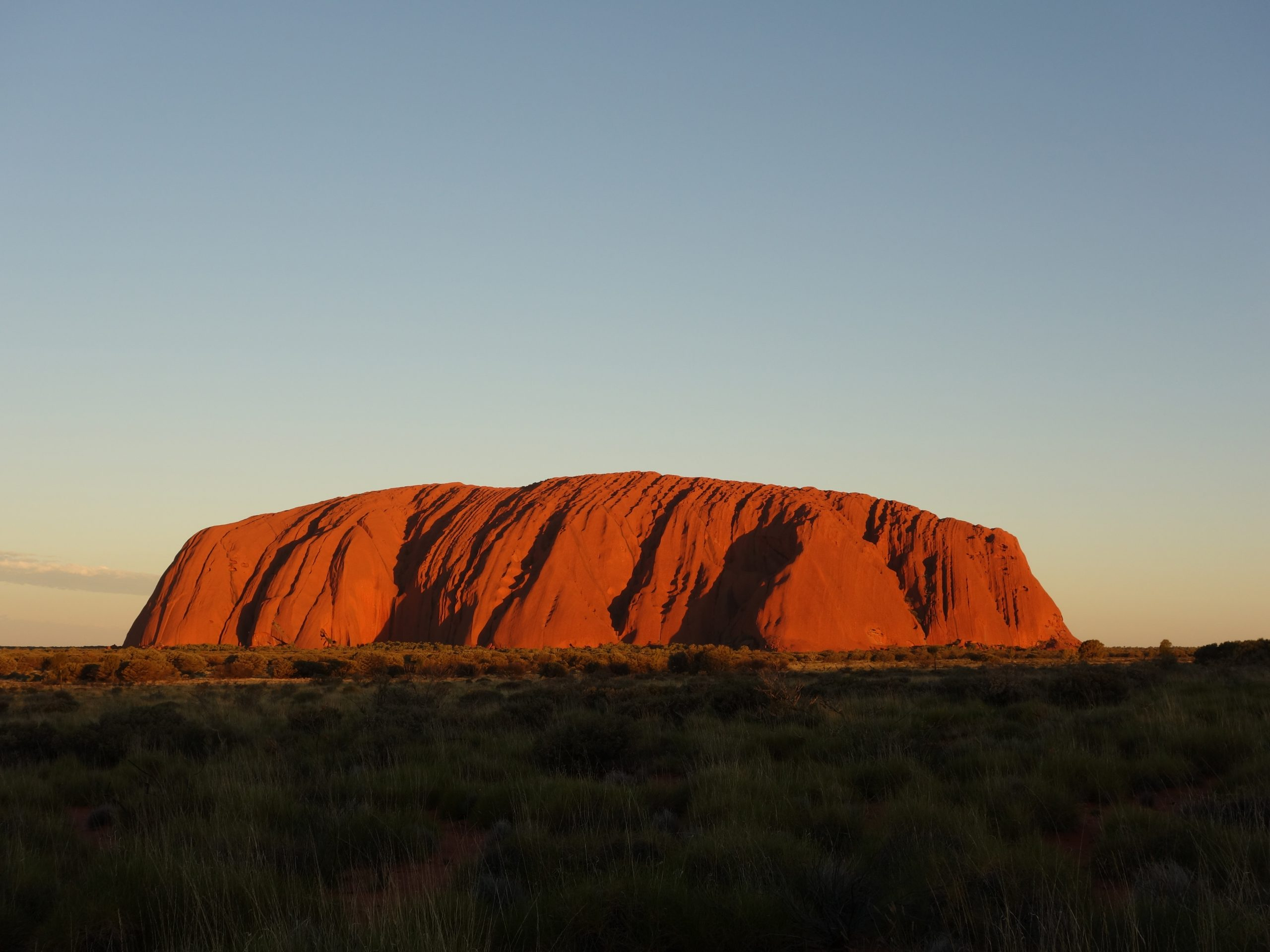 Radreise Australien 2016 - Sonnenuntergang am Uluru