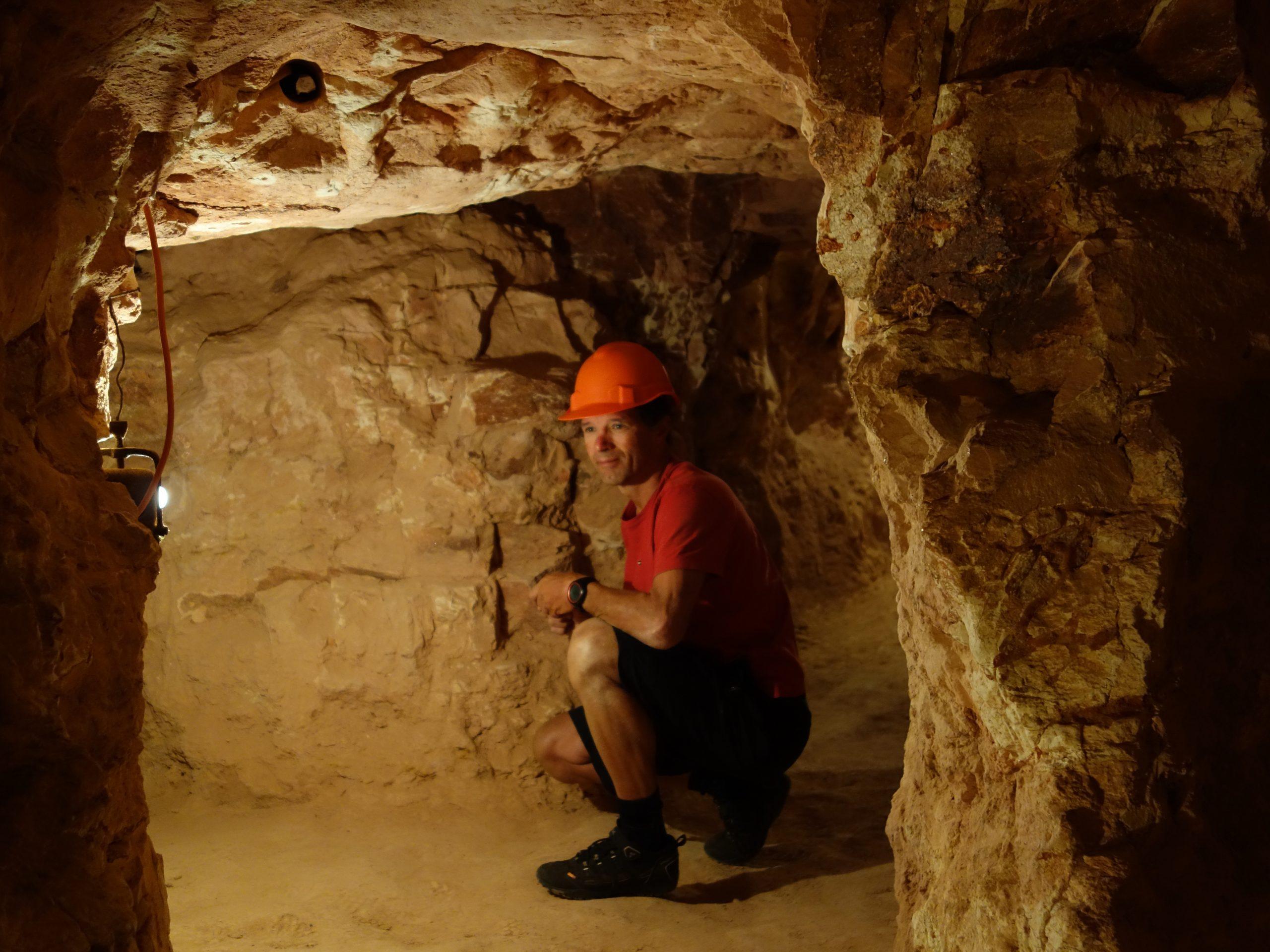 Radreise Australien 2016 - Coober Pedy - Old Timers Mine