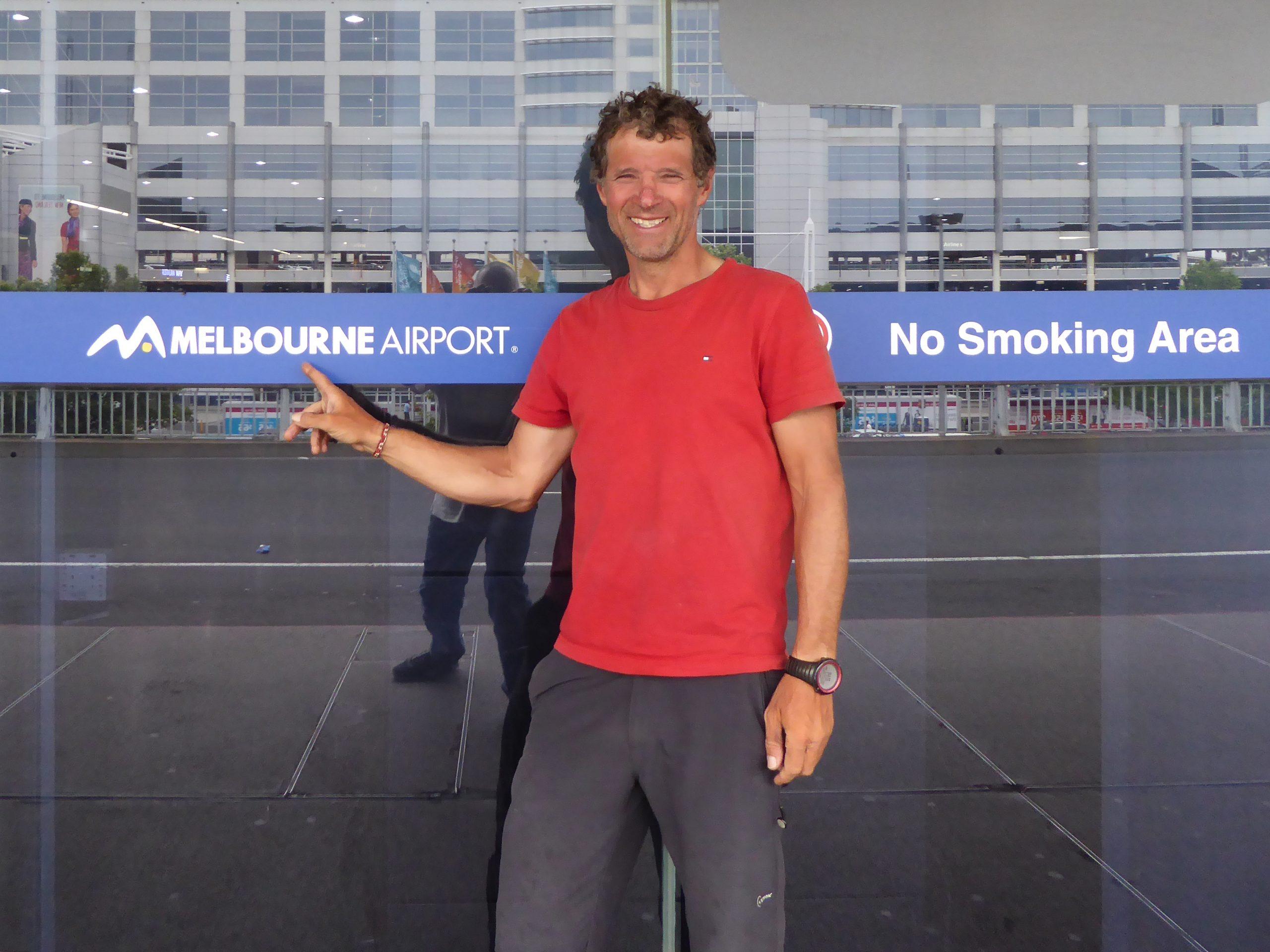 Radreise Australien 2016 - Melbourne Airport