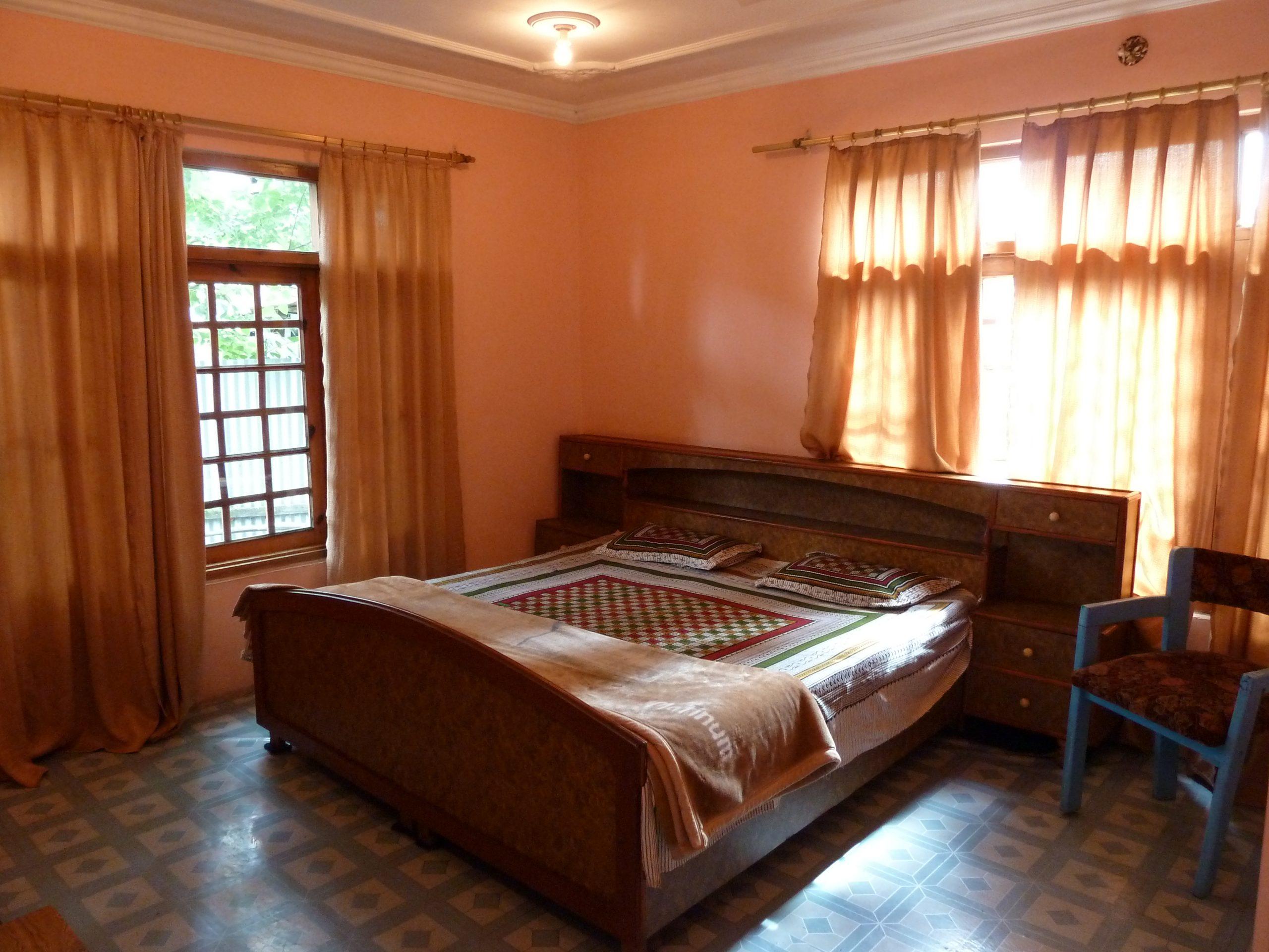 Radreise Ladakh 2012 - Zimmer in Srinagar