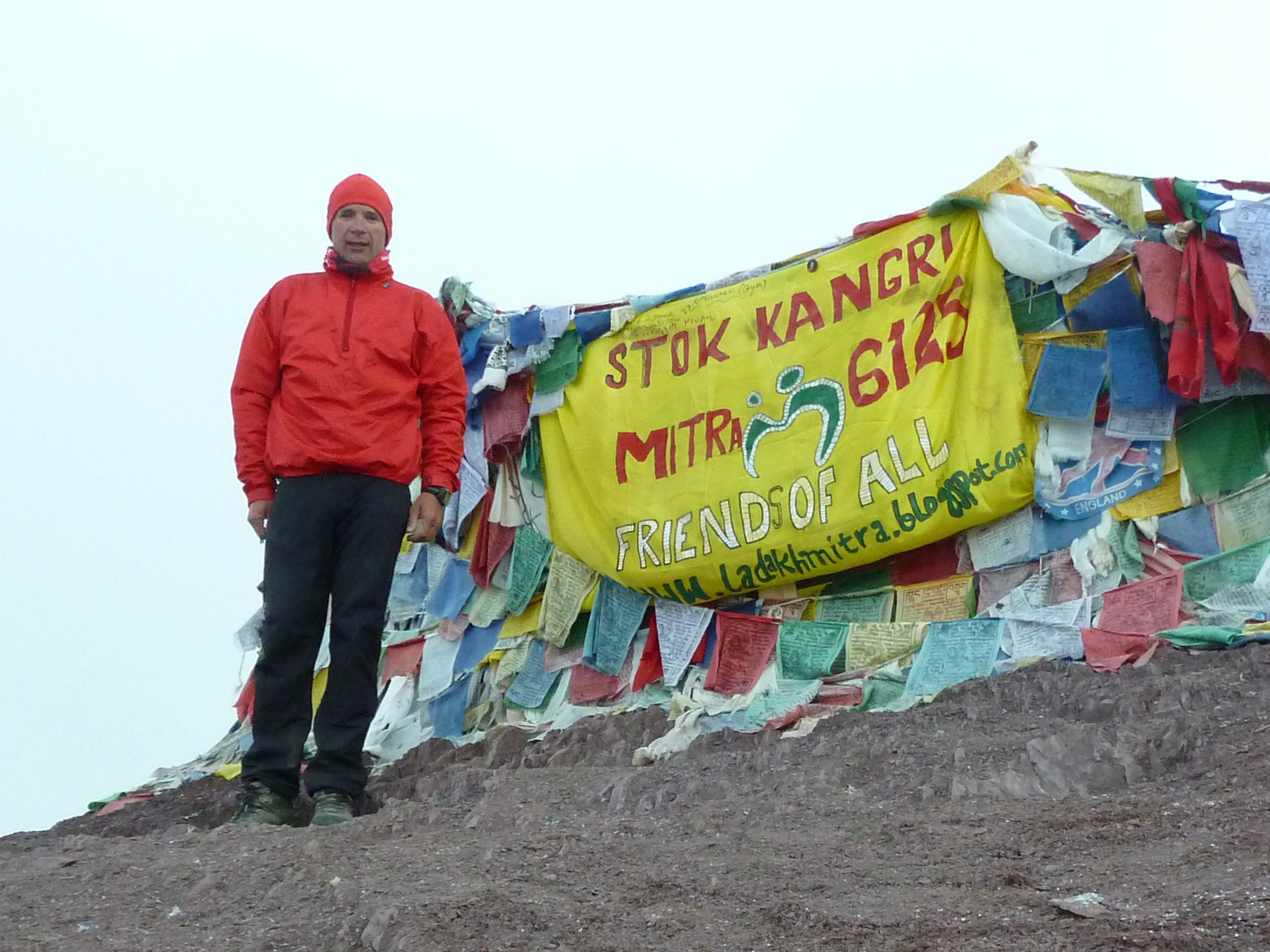 Radreise Ladakh 2012 - Stok-Kangri (6.125m)