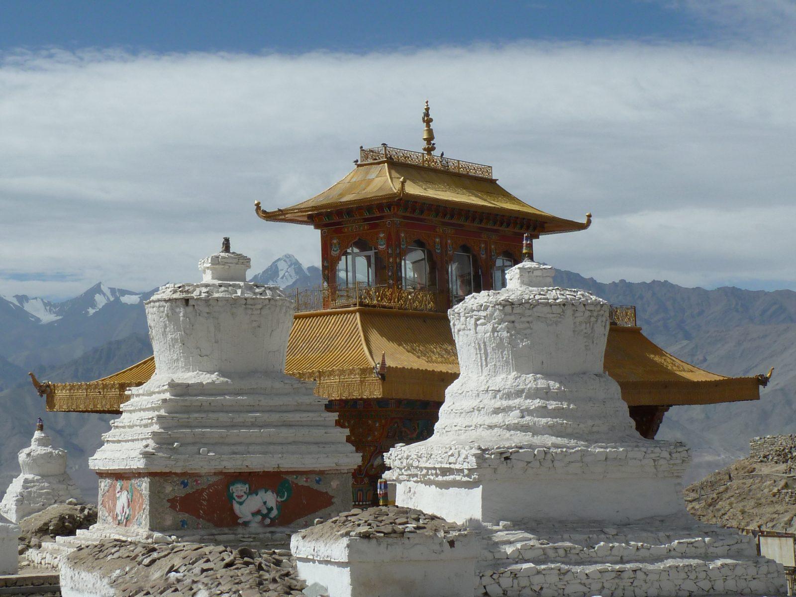Radreise Ladakh 2012 - Chörten bei Leh