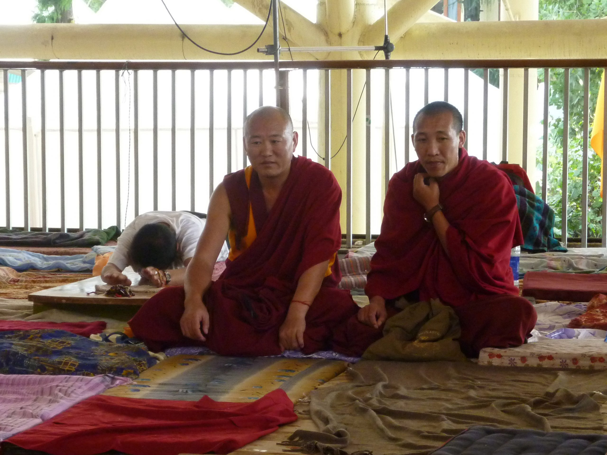 Radreise Ladakh 2012 - Dharamsala - Dalai-Lama - Mönche im Namgyal-Kloster