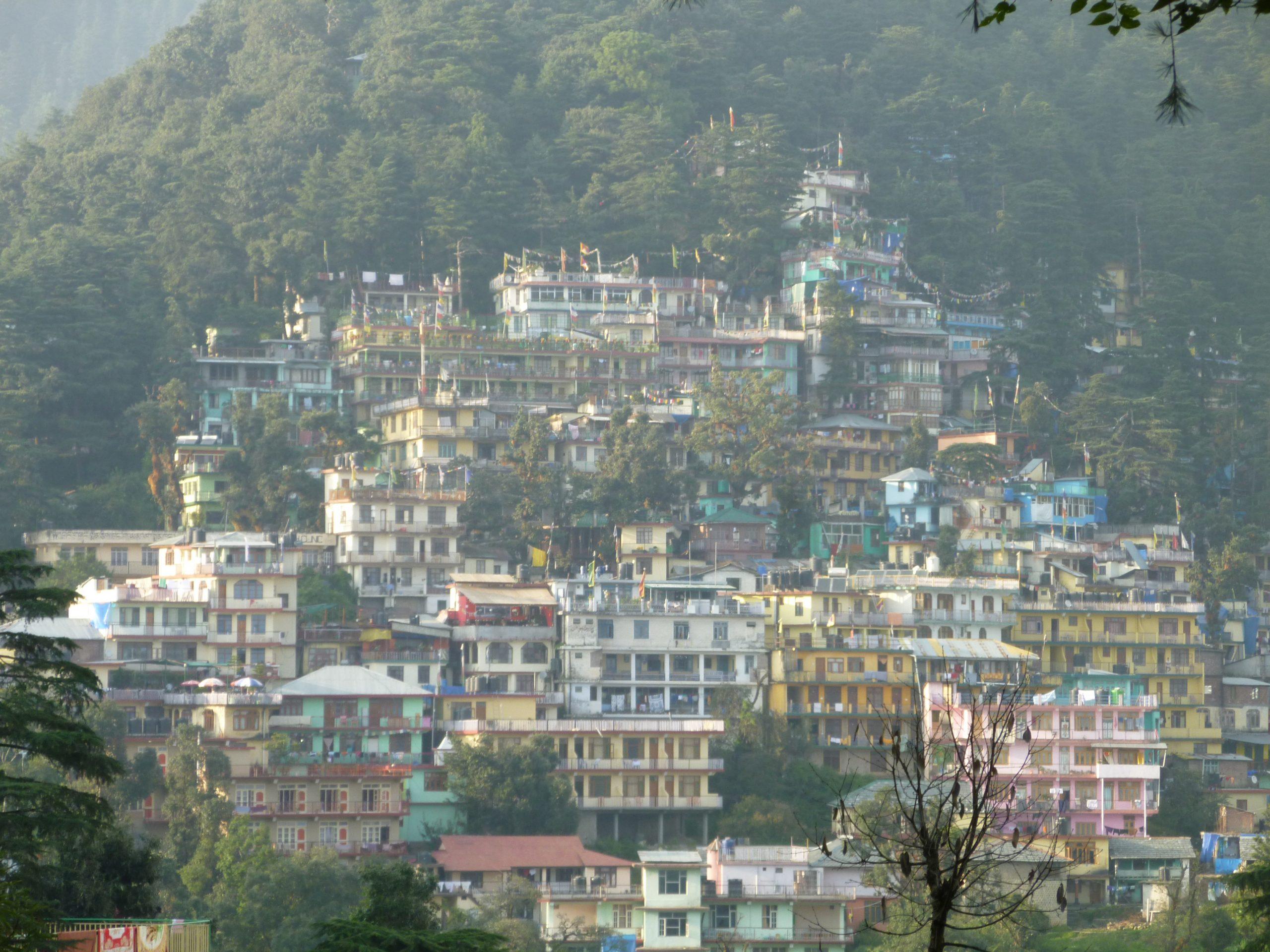 Radreise Ladakh 2012 - Dharamsala - Exil-Home Dalai-Lama