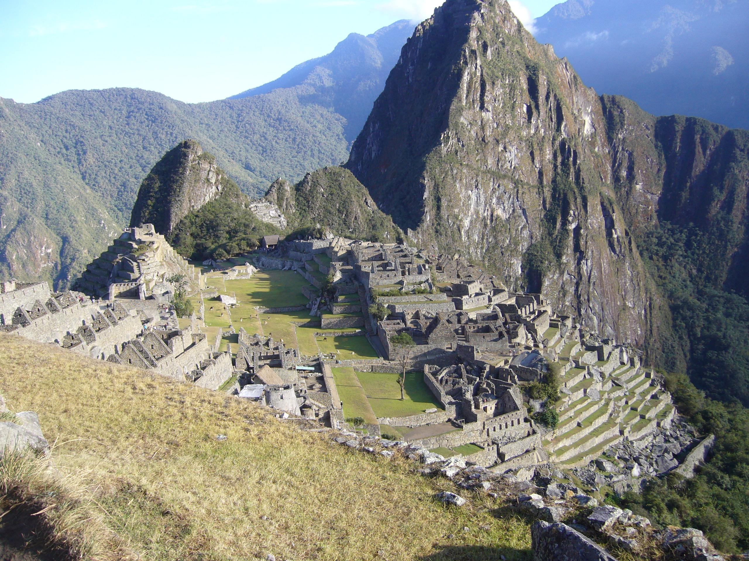 Radreise Peru 2008 - Machupicchu