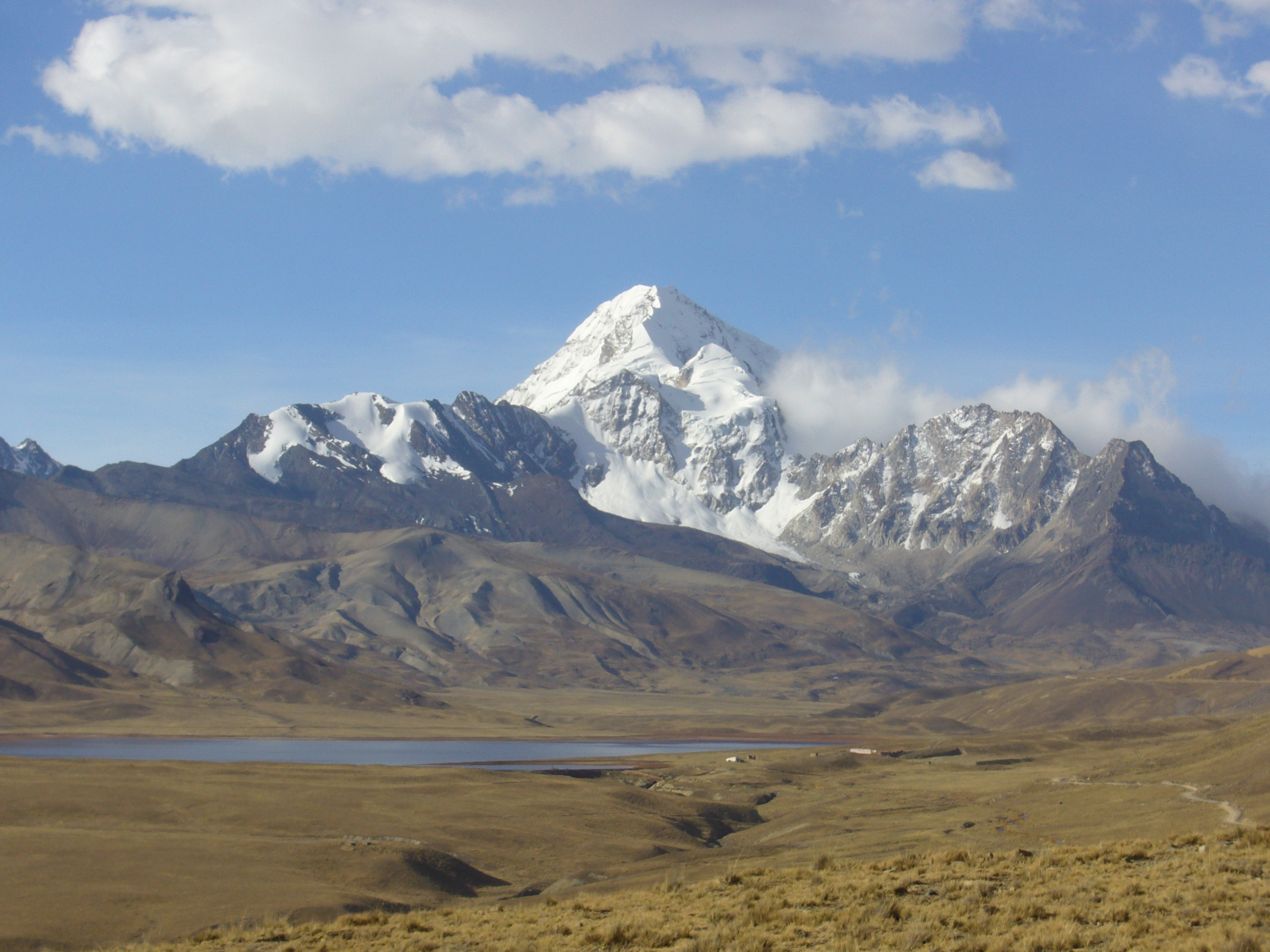 Radreise Peru 2008 - Huayna Potosi mit Laguna Jankno Kkoto