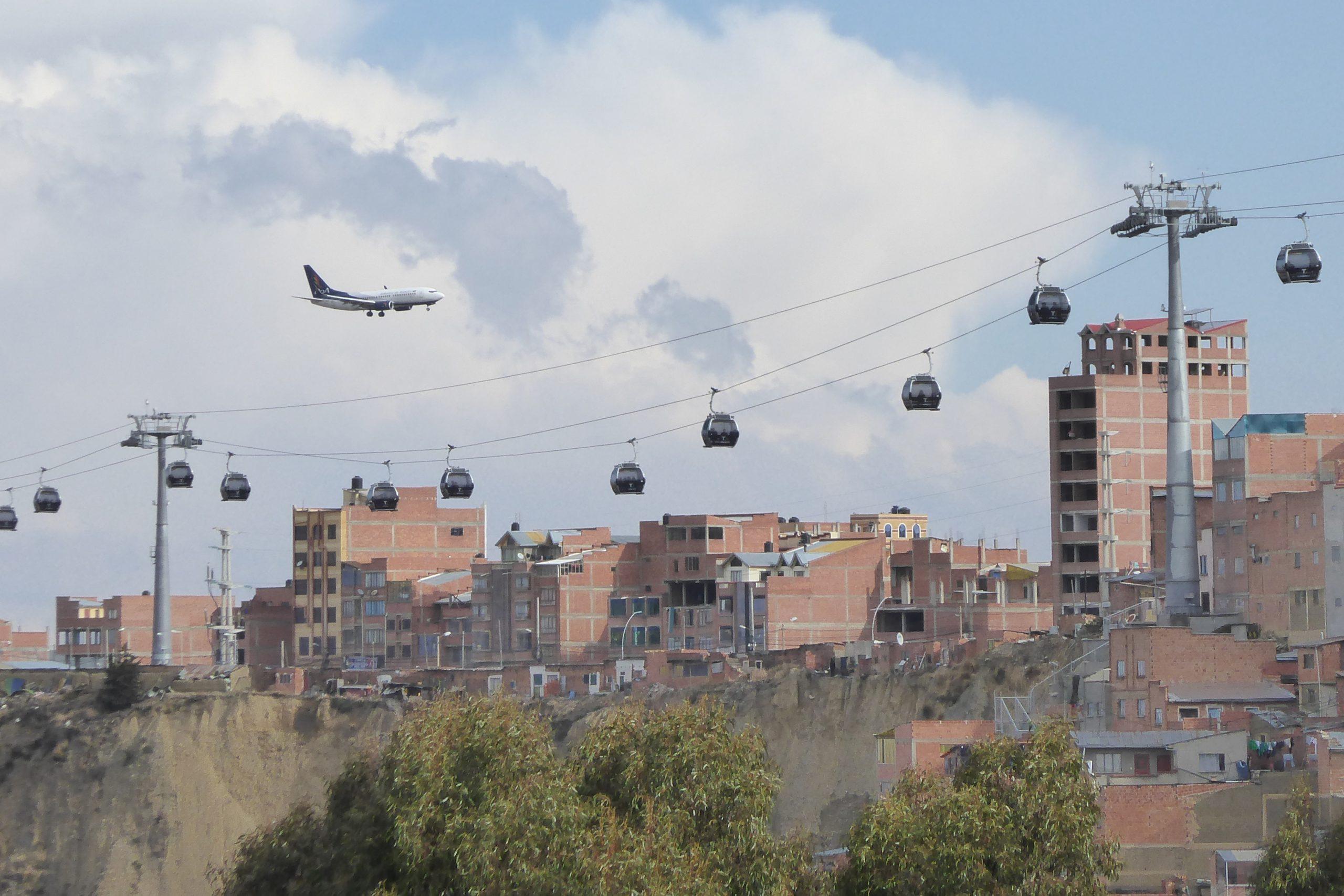 Radreise Südamerika 2019 - El Alto und La Paz mit Seilbahn