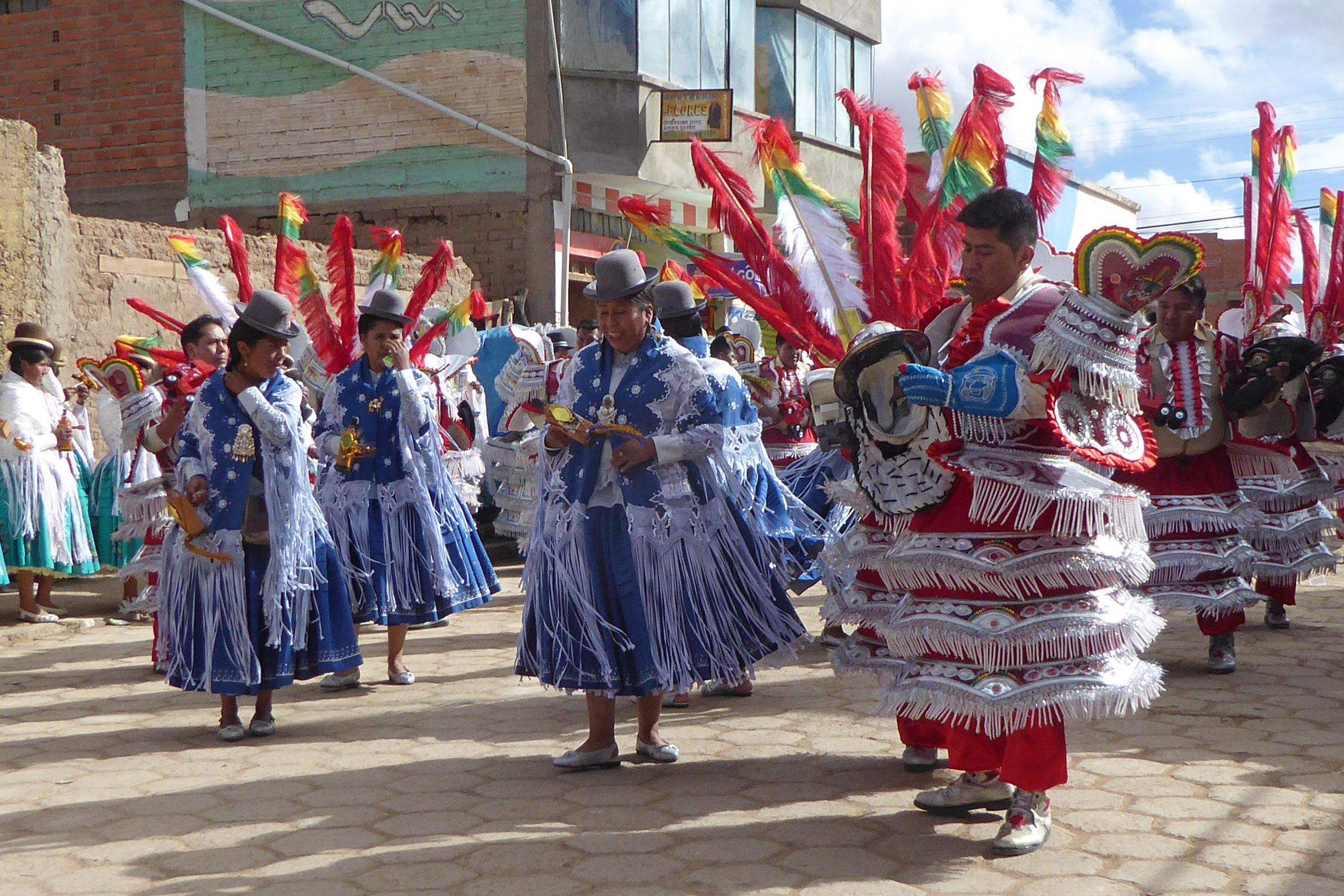 Radreise Südamerika 2019 - Festividad de la Virgen del Rosario