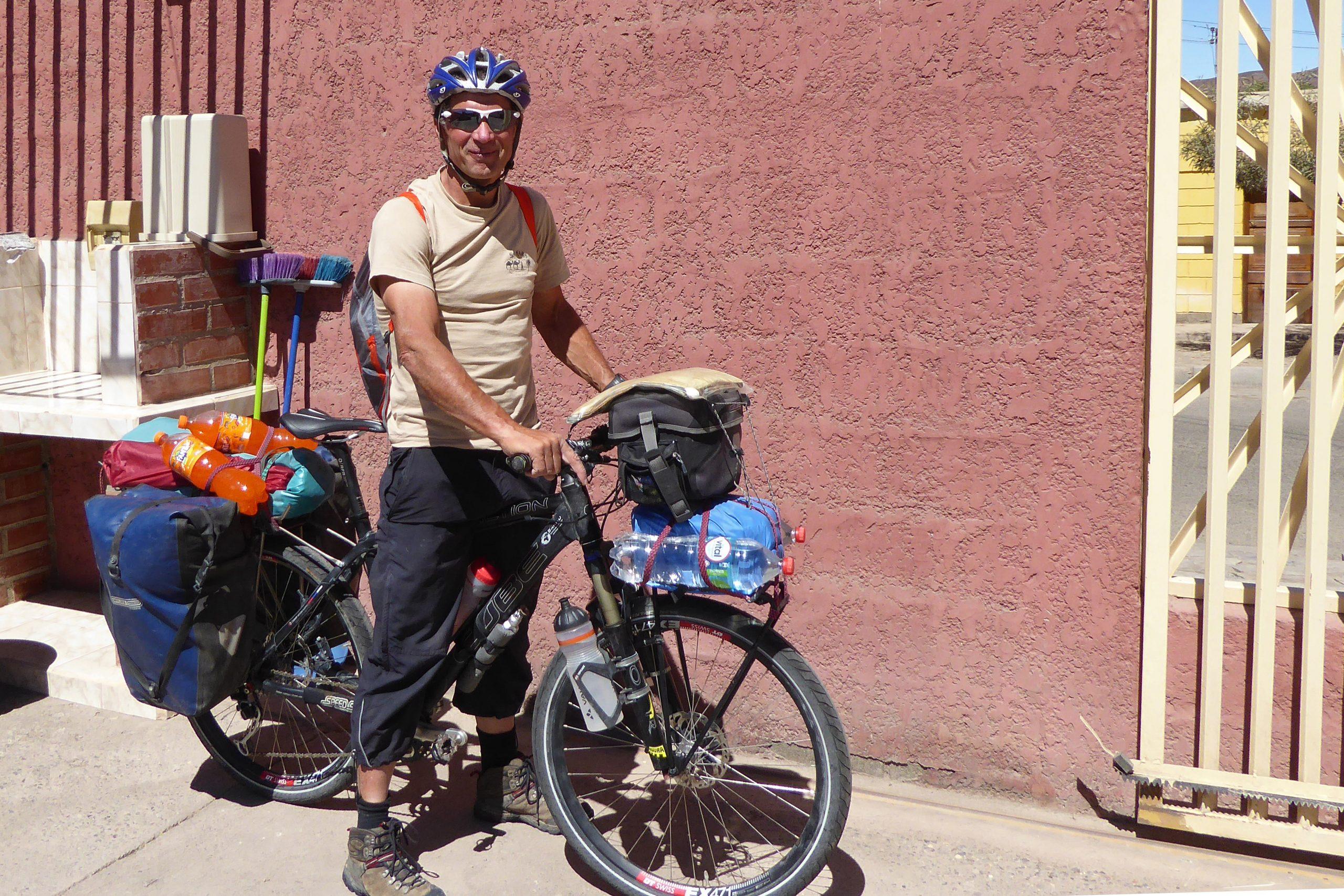 Radreise Südamerika 2019 - Abfahrt zum Ojos de Salado