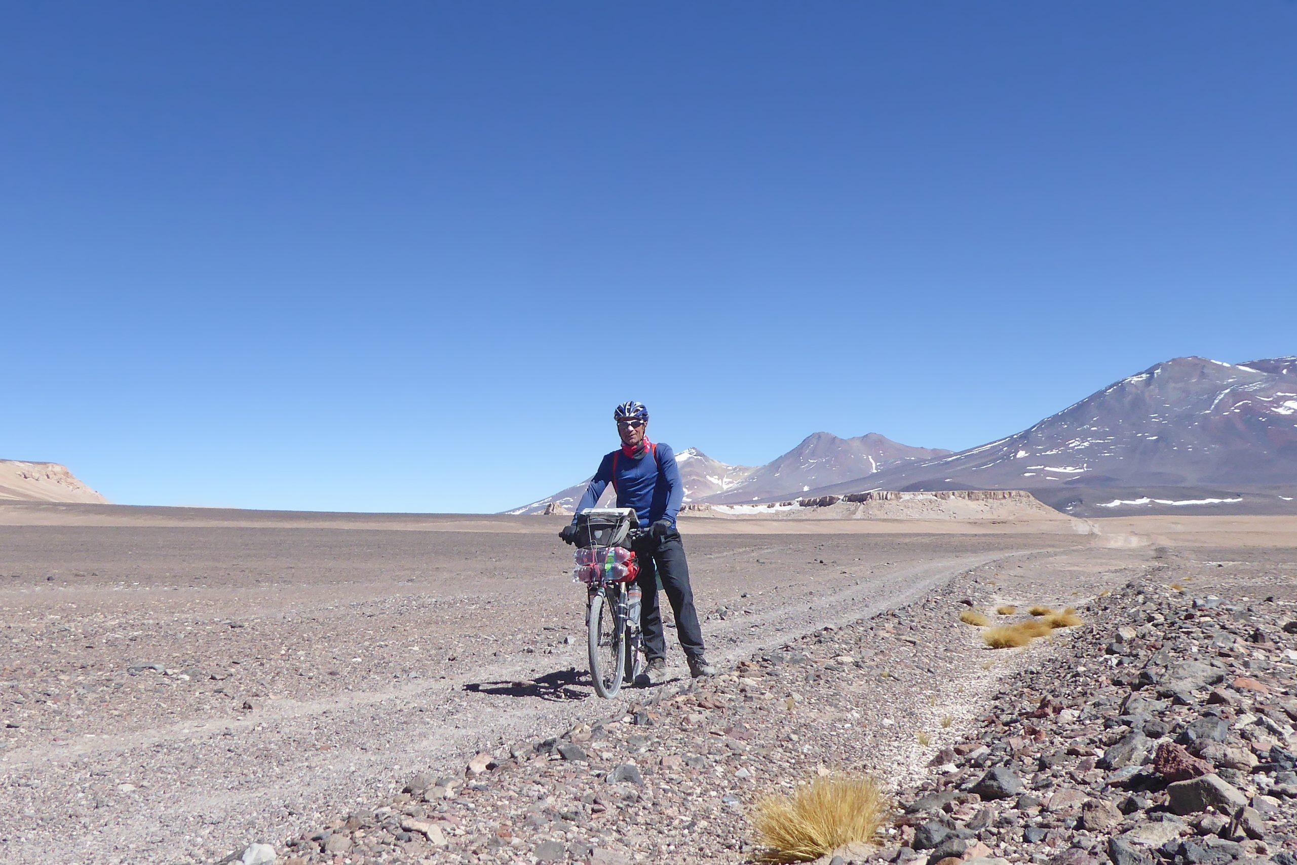 Radreise Südamerika 2019 - Auf dem Weg zum Ojos de Salado (6.893m)