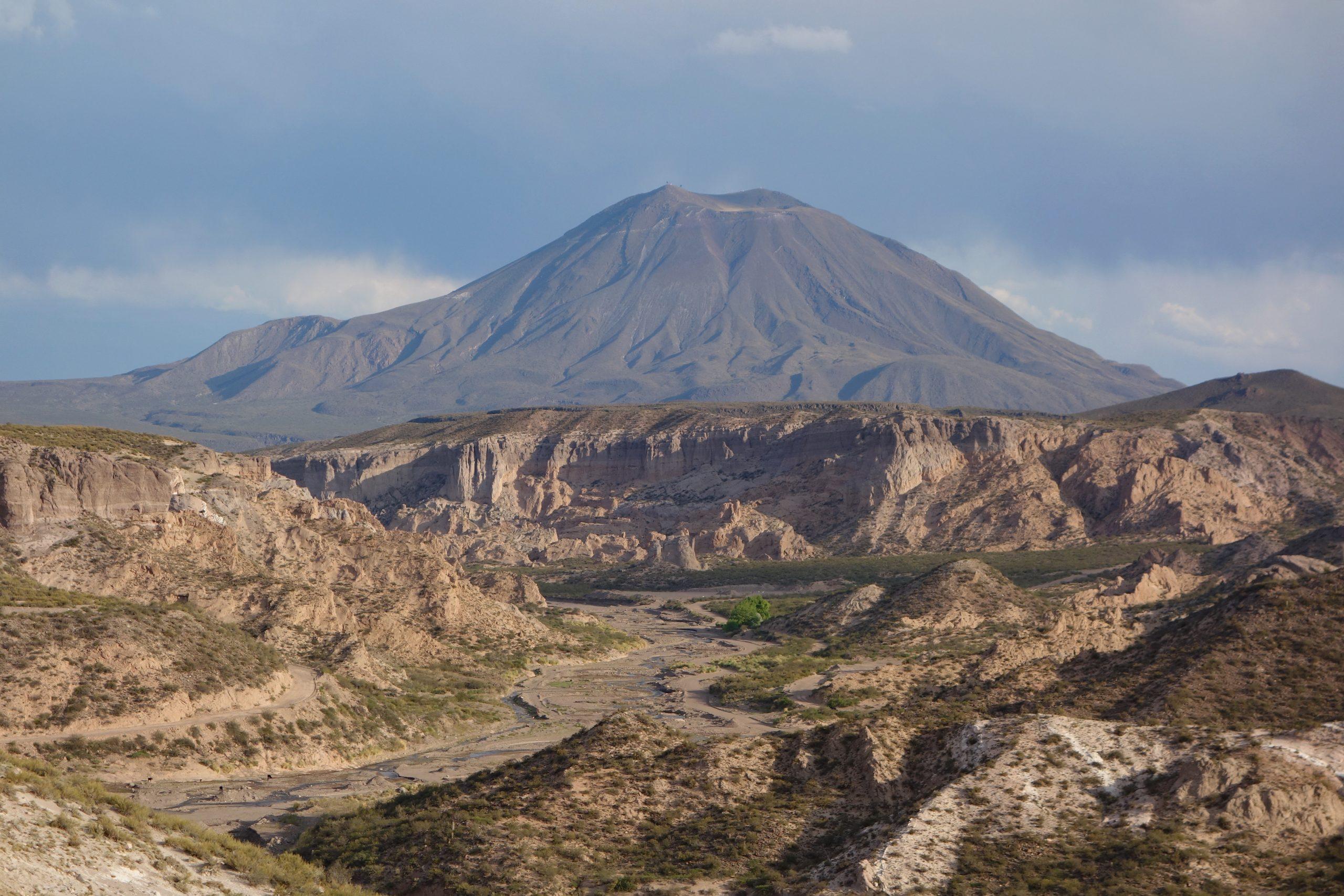 Radreise Südamerika 2019 - Arroyo la Faja und Cerro Diamante (2.354m)