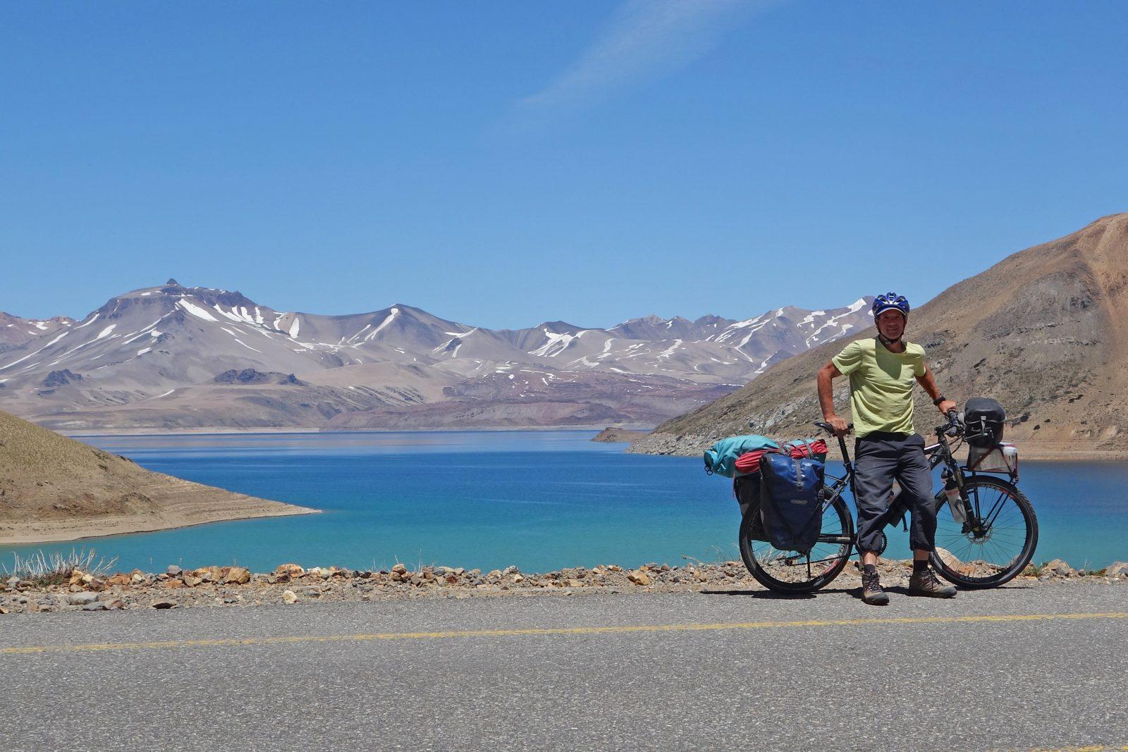 Radreise Südamerika 2019 - Laguna del Maule