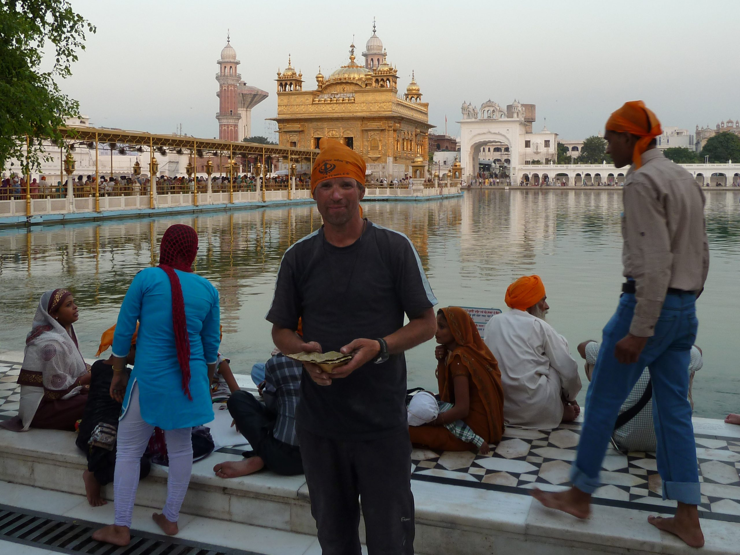Radreise Ladakh 2012 - Amritsar - Goldener Tempel der Sikh
