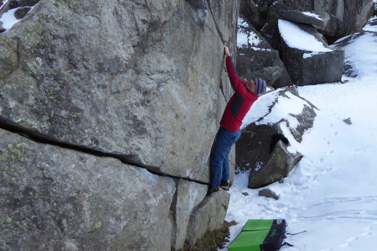 Bouldern im Zillertal
