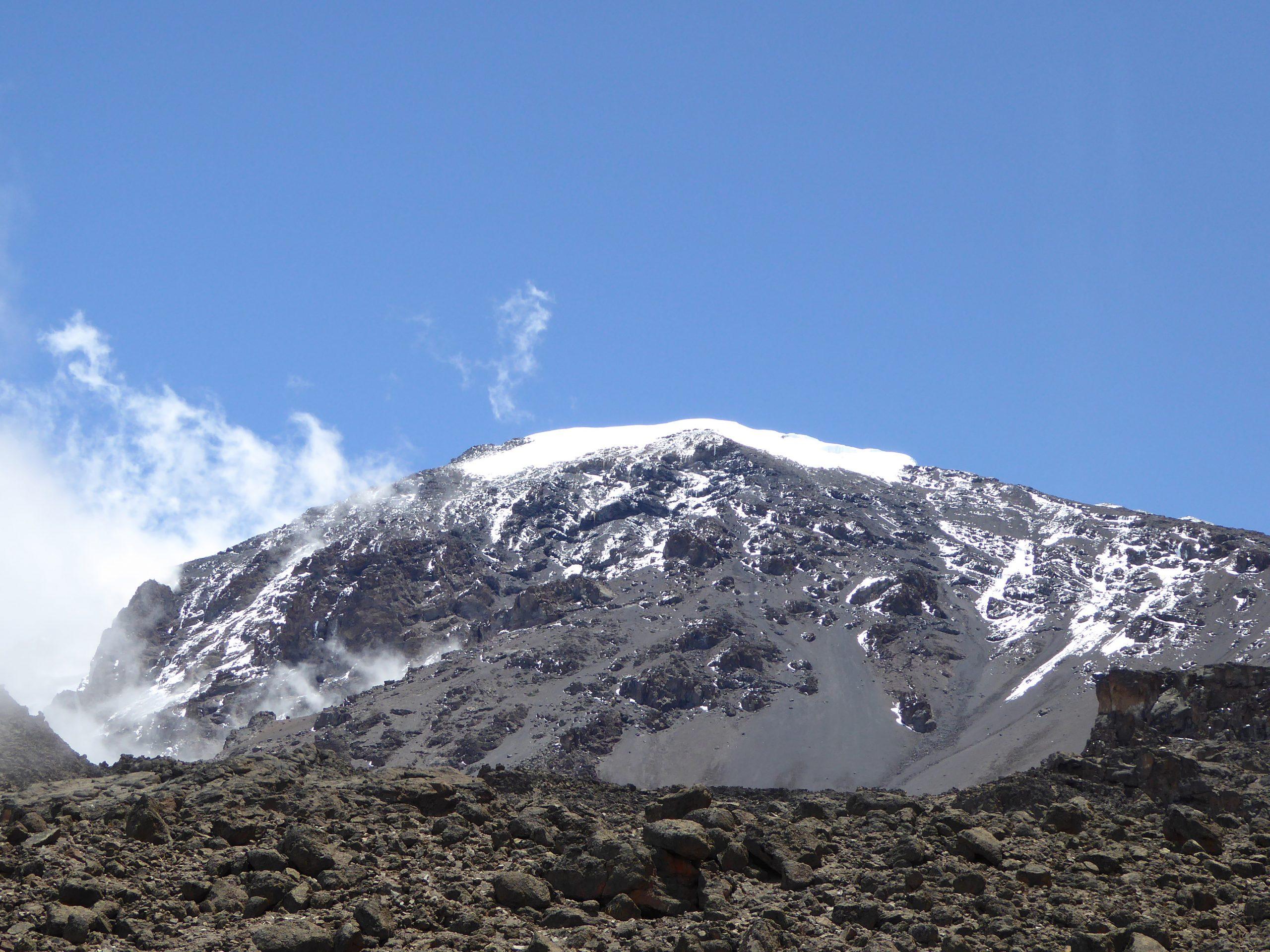 Radreise Afrika 2014 - Kilimanjaro - Decken- und Rebmann-Gletscher