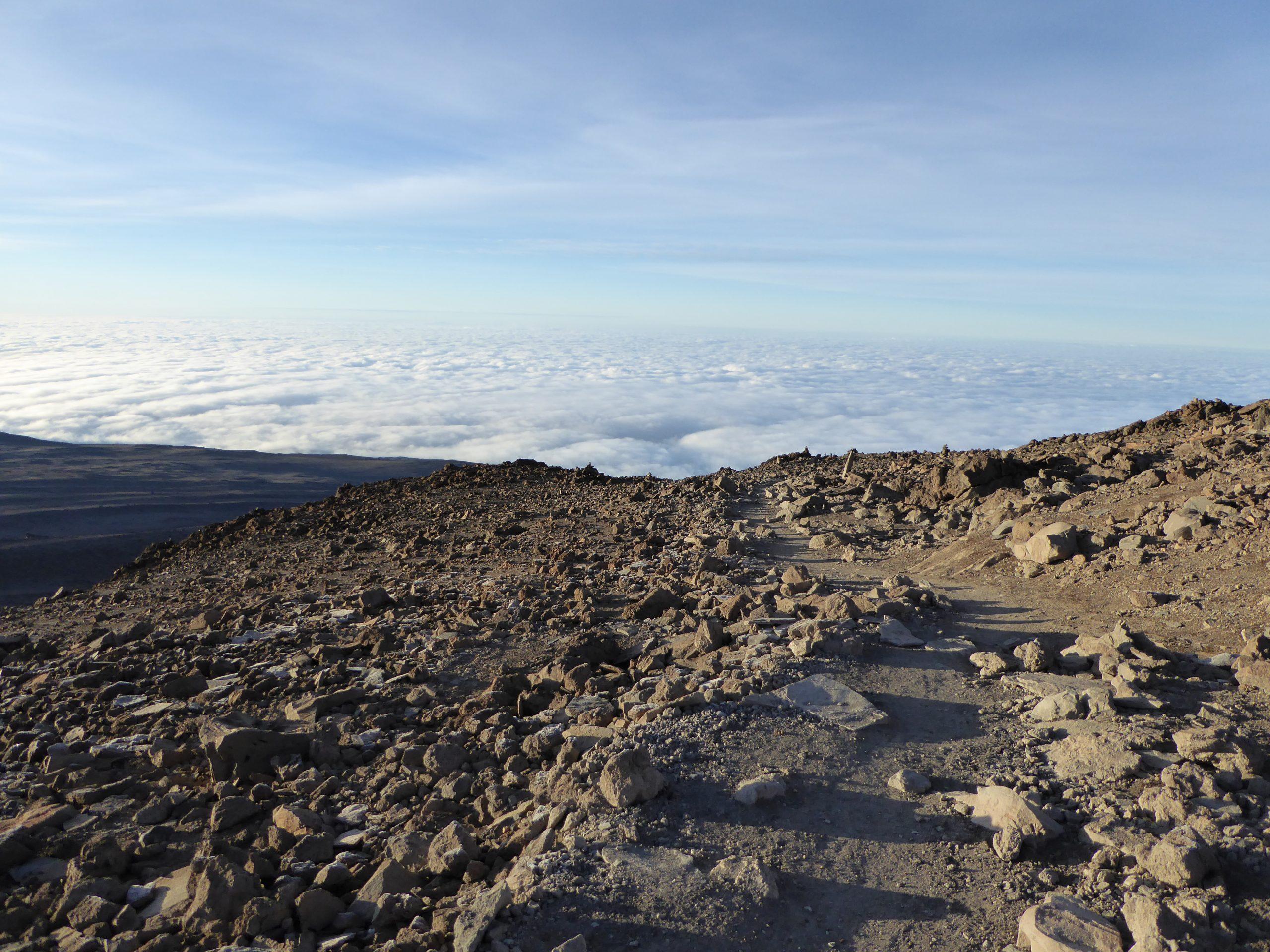 Radreise Afrika 2014 - Kilimanjaro - Barafu-Camp