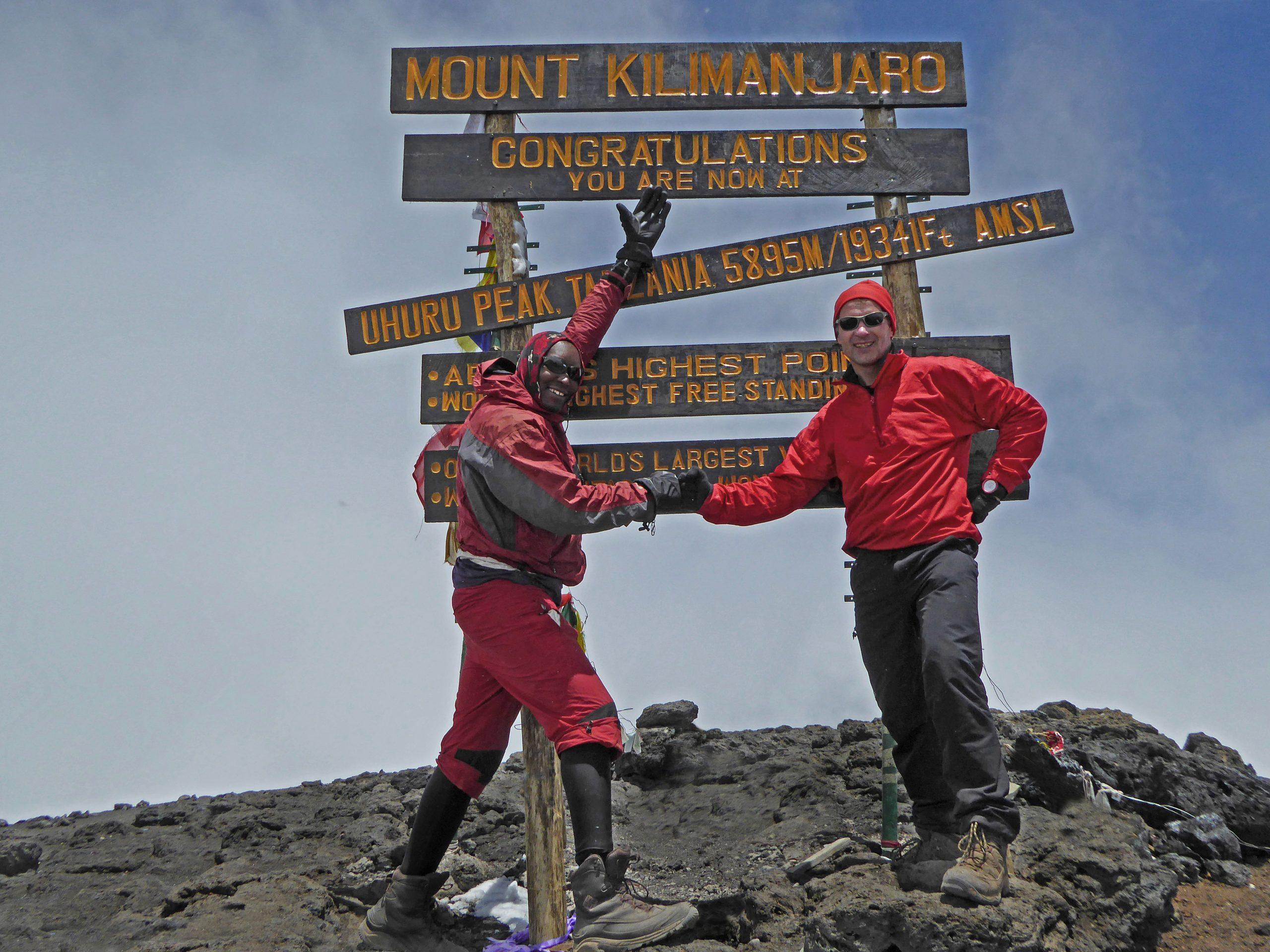 Radreise Afrika 2014 - Kilimanjaro - Uhuru-Peak (5.895m)