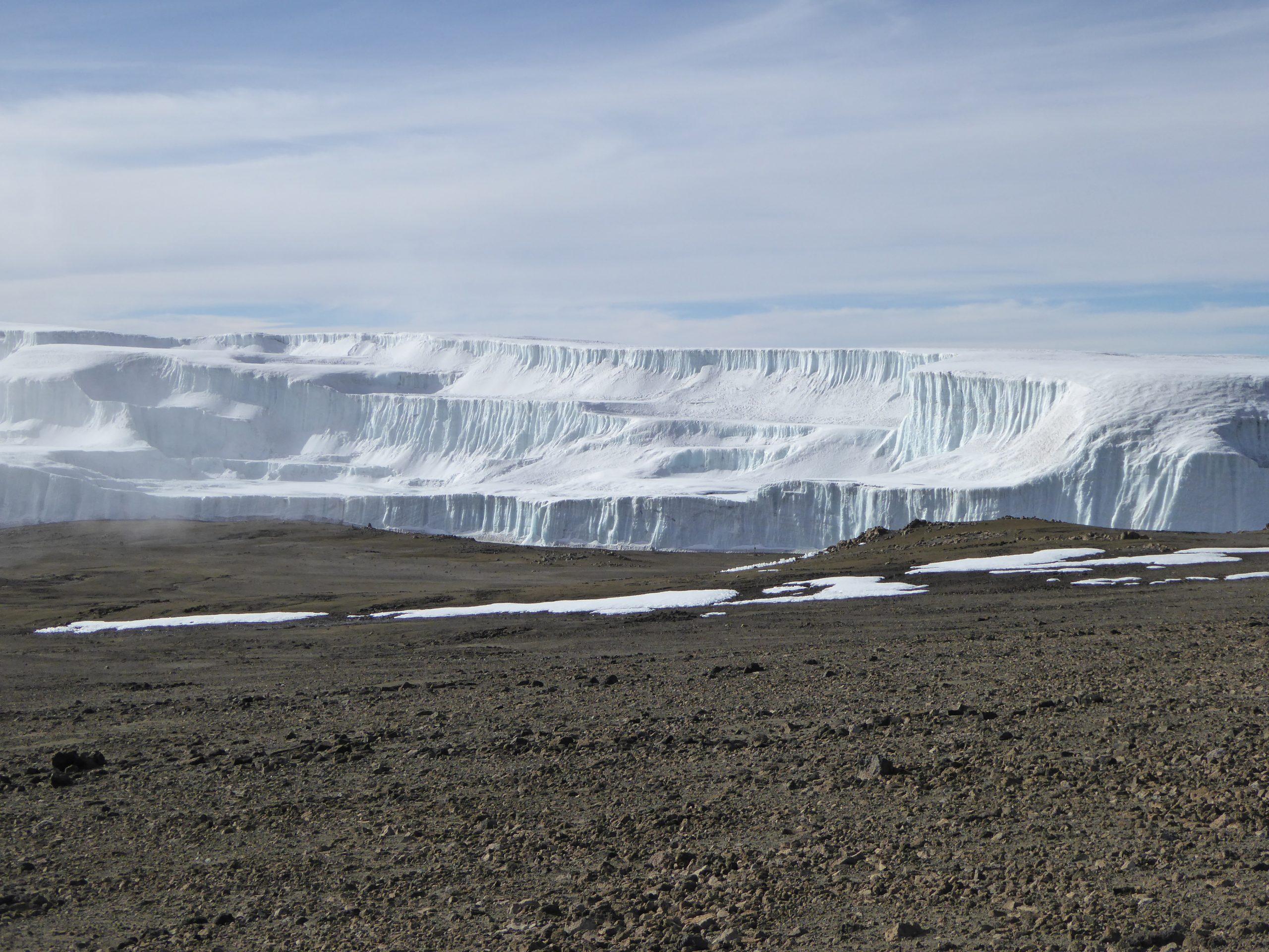 Radreise Afrika 2014 - Kilimanjaro - Drygalski-Gletscher