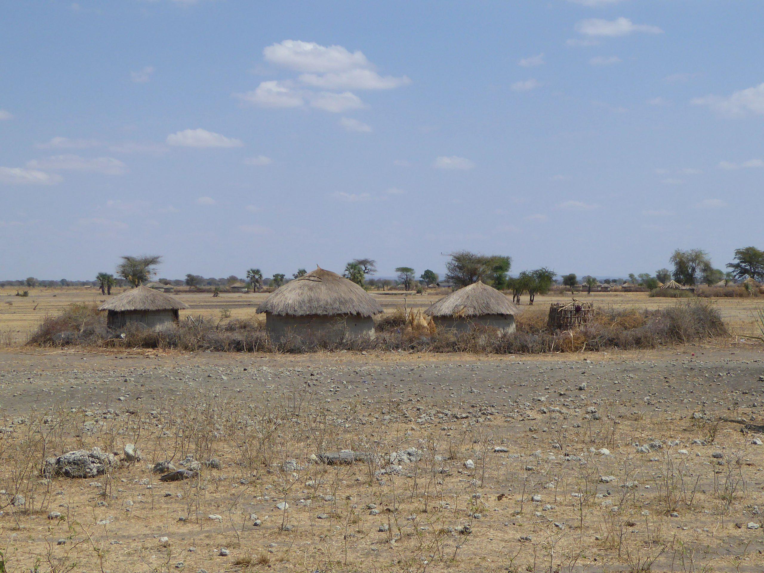 Radreise Afrika 2014 - Massai-Dorf (Kral)