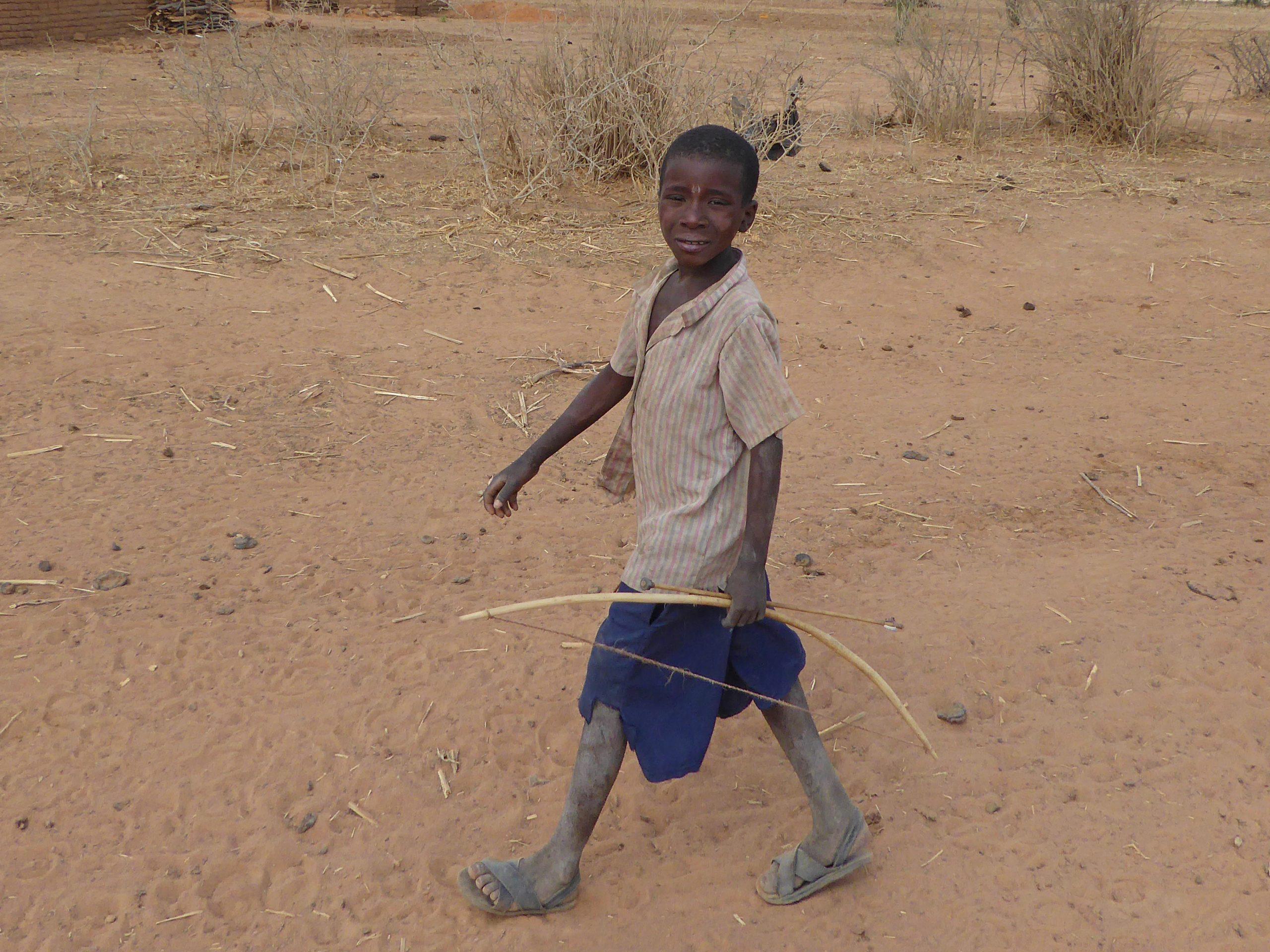 Radreise Afrika 2014 - Junger Massai