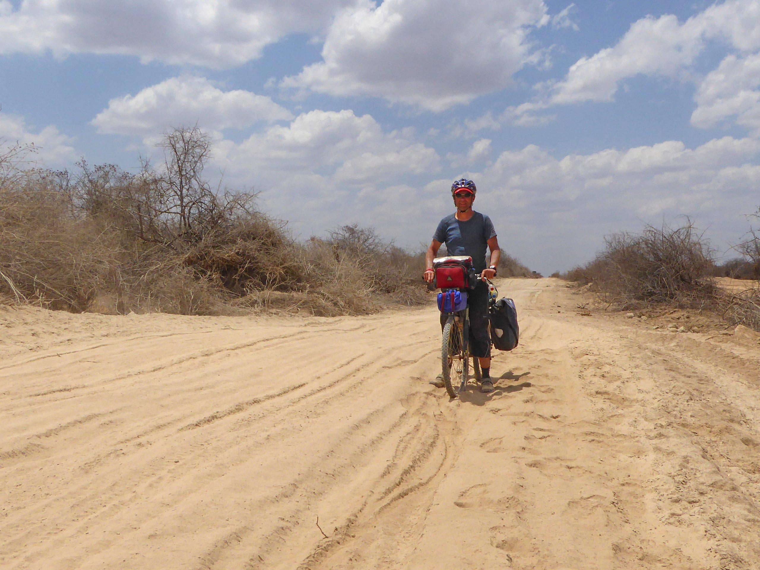 Radreise Afrika 2014 - Sandpiste