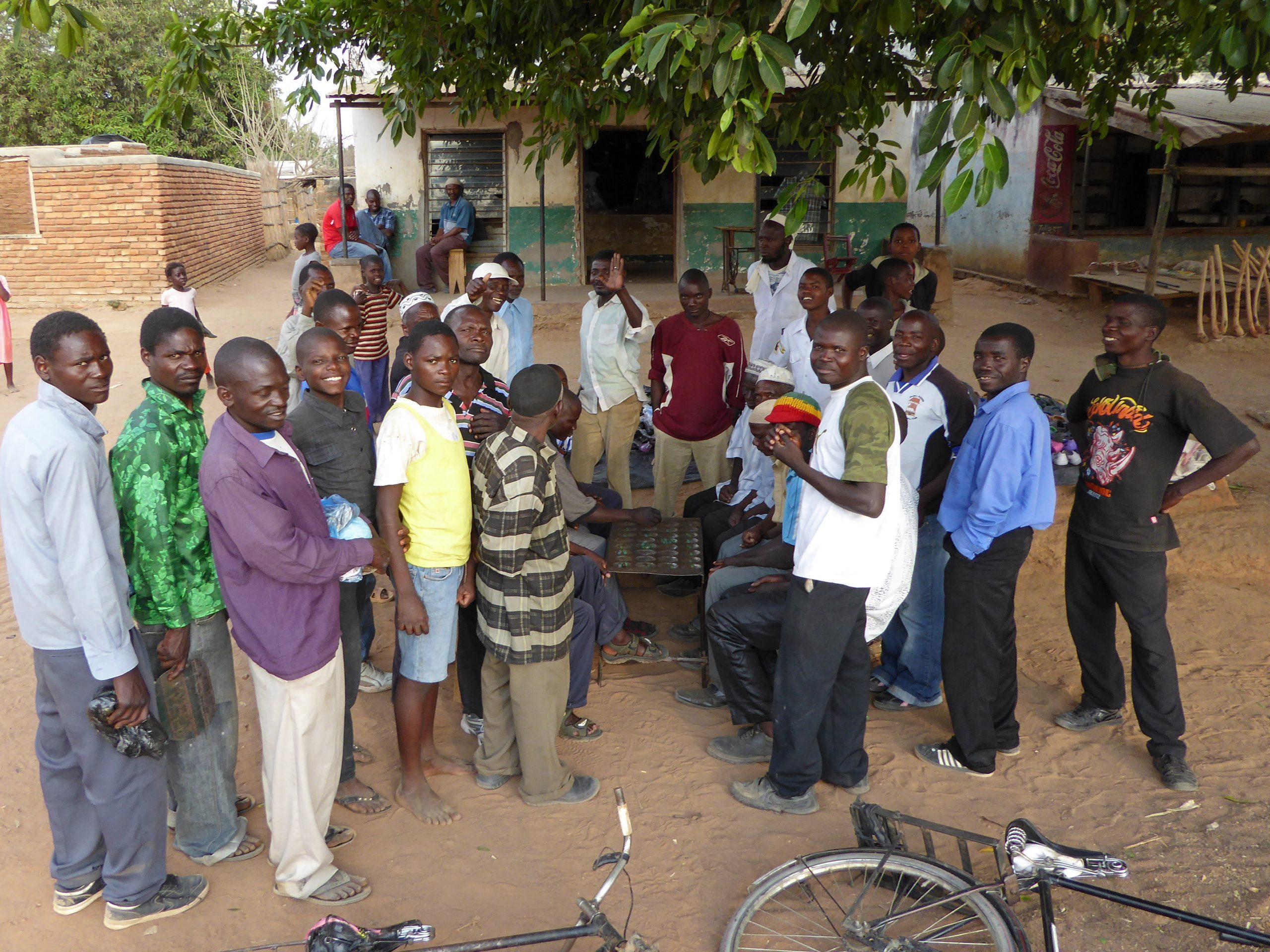 Radreise Afrika 2014 - Bao, ein Mancala-Spiel aus Afrika