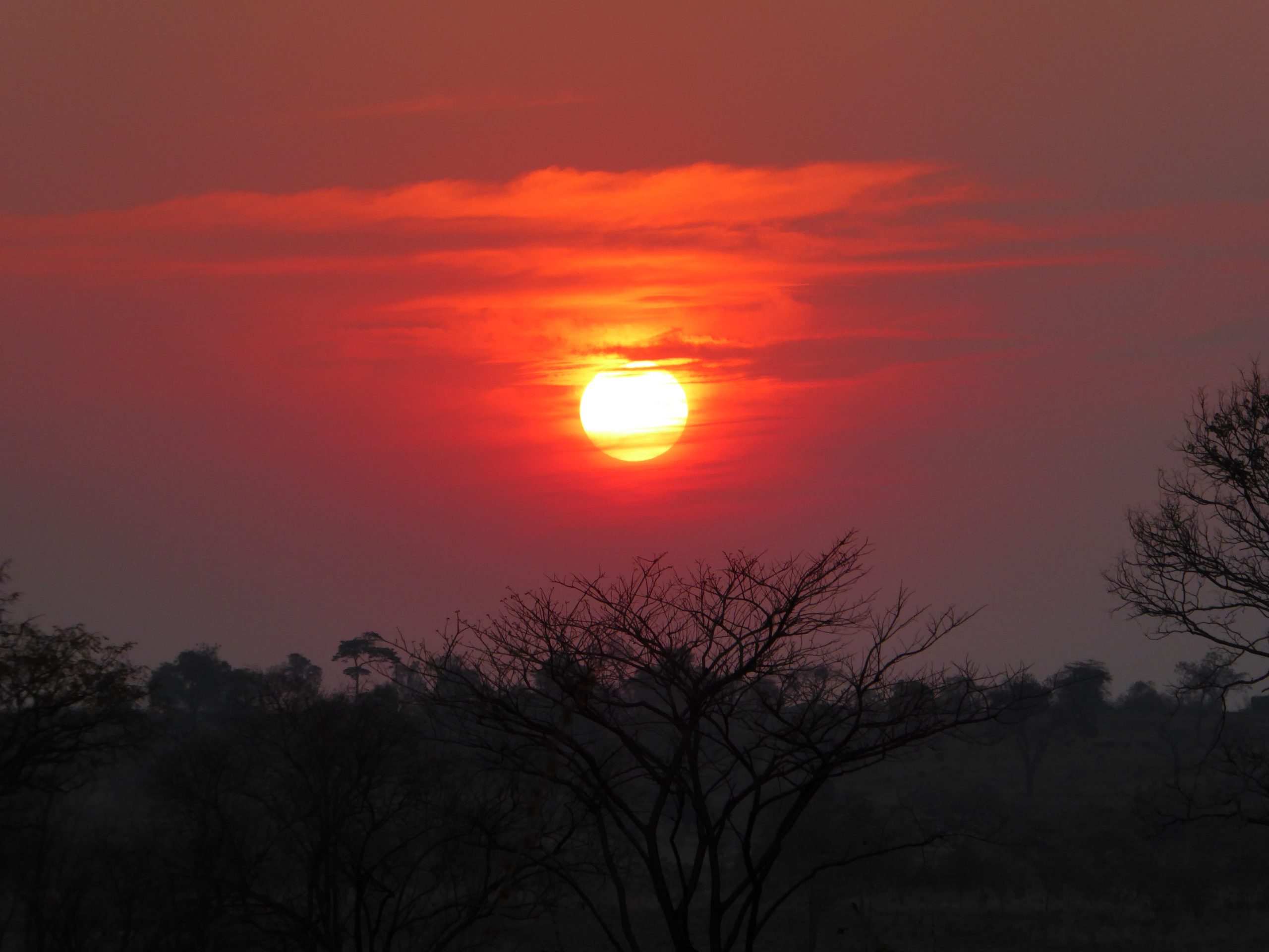 Radreise Afrika 2014 - Sonnenuntergang