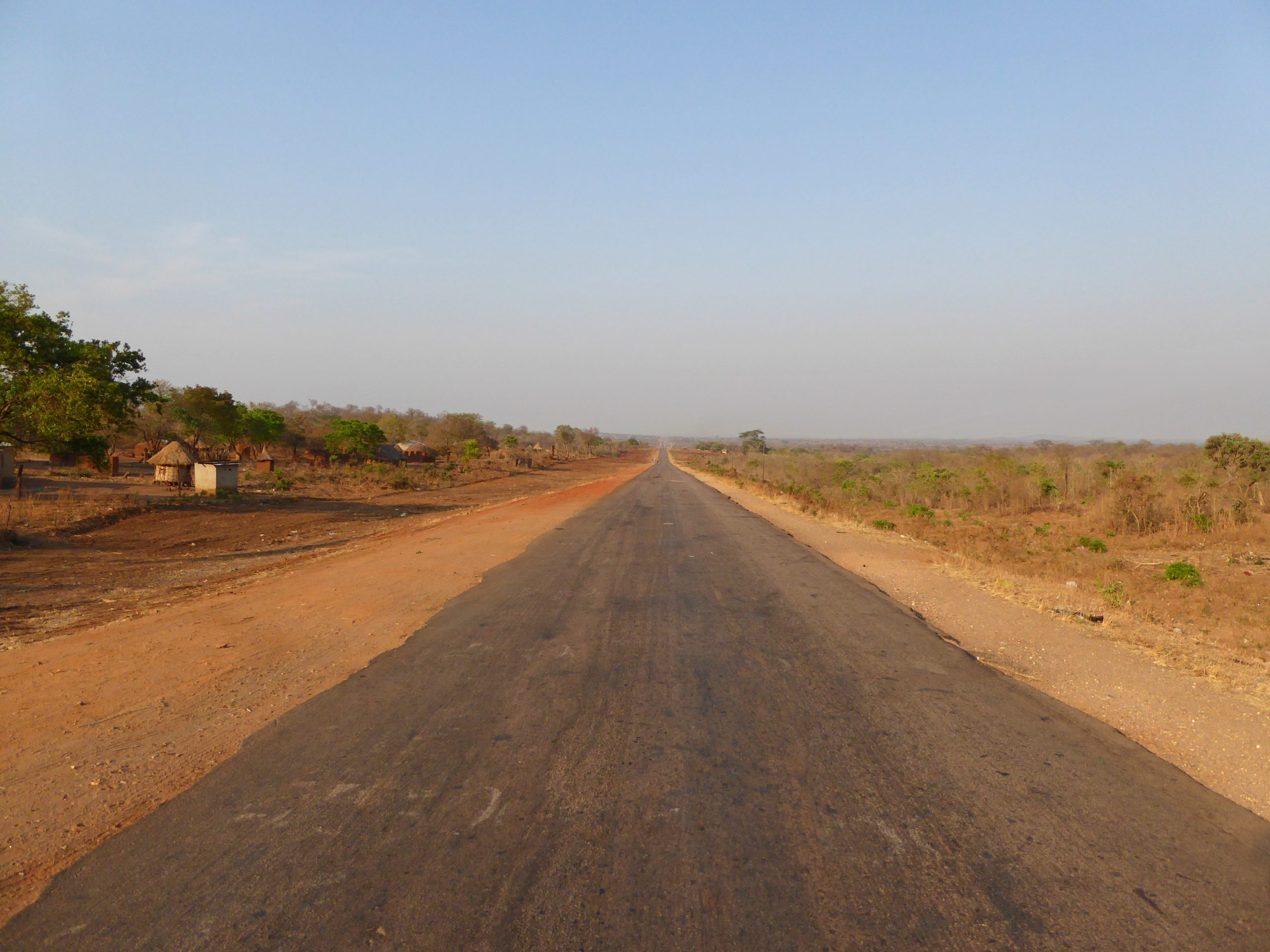 Radreise Afrika 2014 - Great East Road