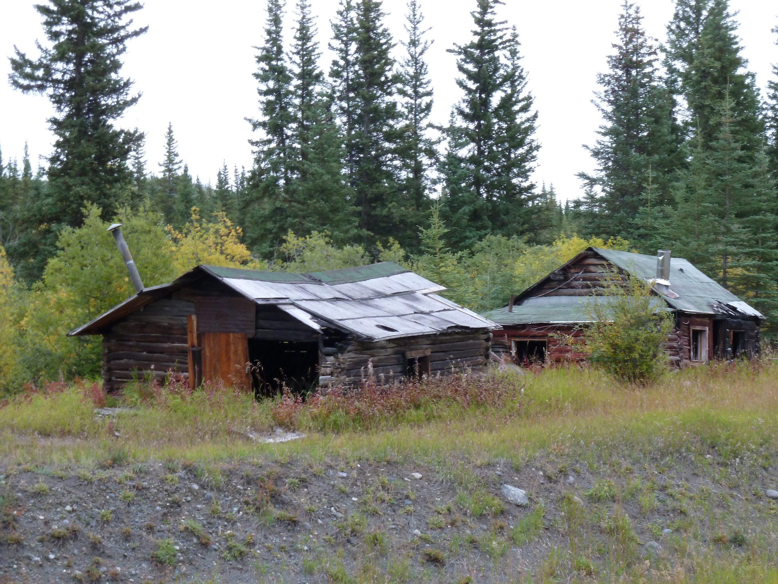 Radreise Alaska 2010 - Alte Goldgräberhütten