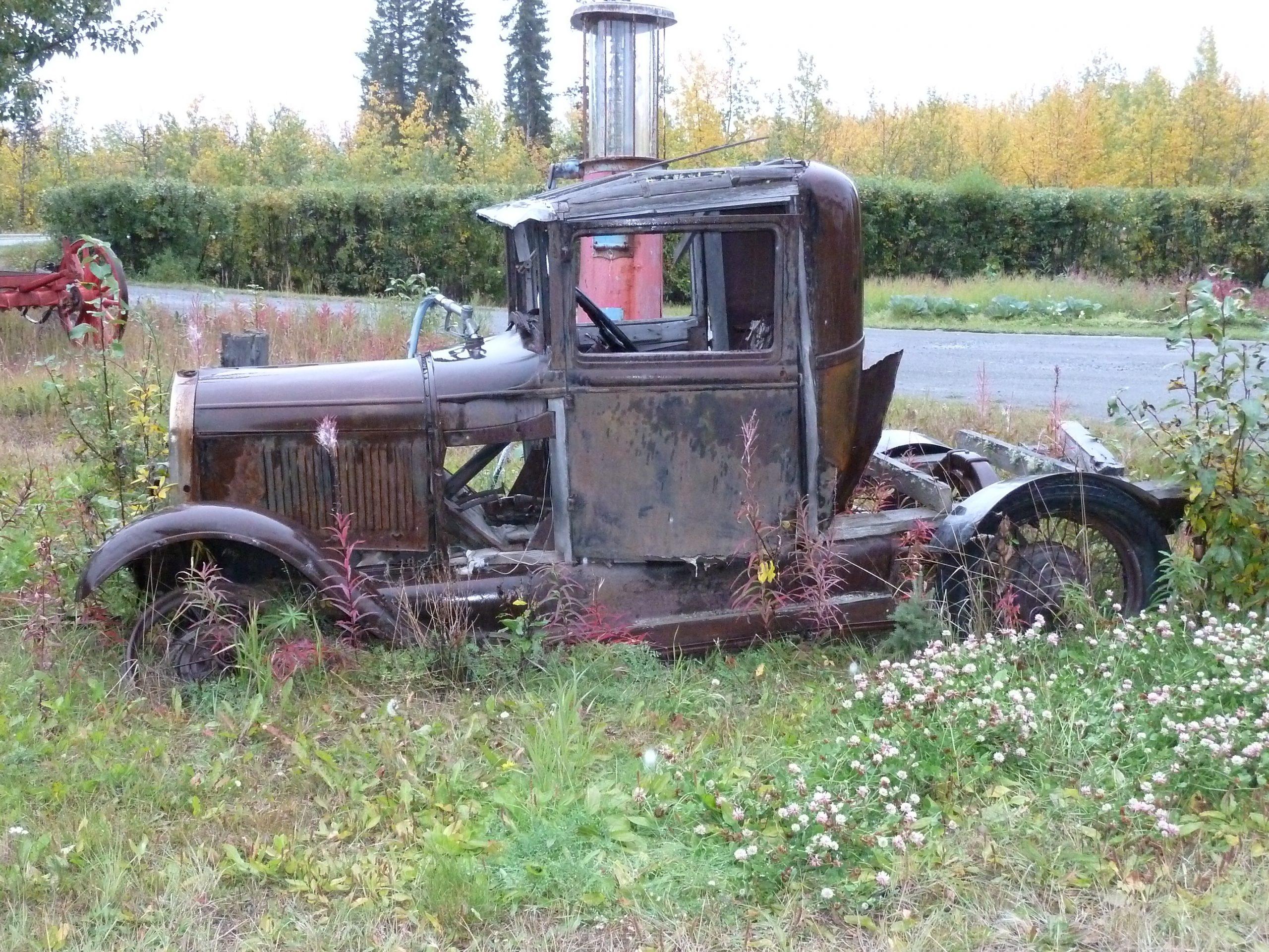 Radreise Alaska 2010 - Altes Auto